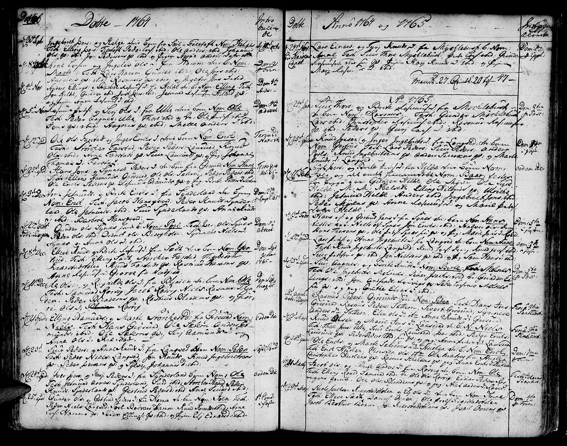 SAT, Ministerialprotokoller, klokkerbøker og fødselsregistre - Møre og Romsdal, 536/L0493: Ministerialbok nr. 536A02, 1739-1802, s. 216-217