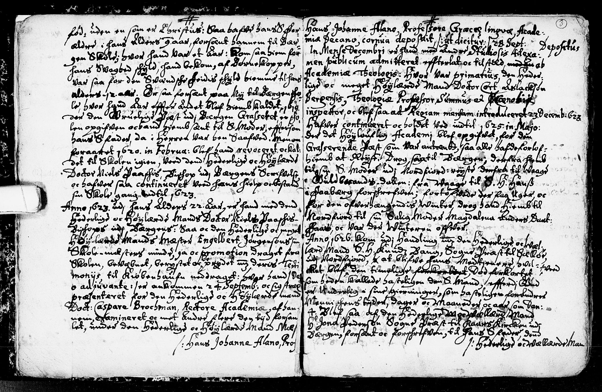 SAKO, Seljord kirkebøker, F/Fa/L0001: Ministerialbok nr. I 1, 1654-1686, s. 3