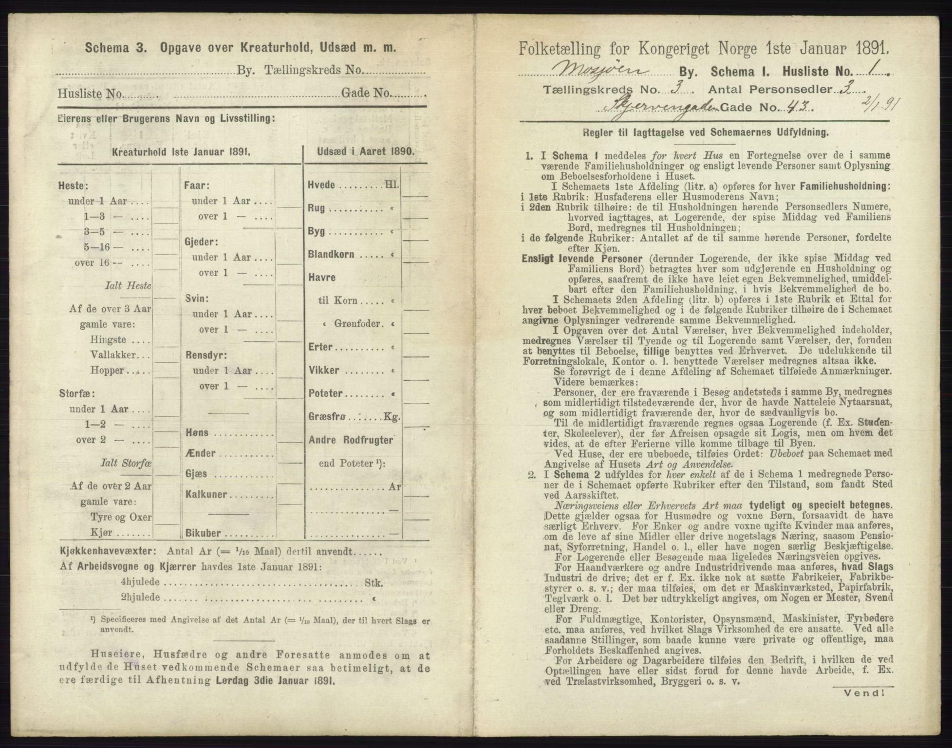 RA, Folketelling 1891 for 1802 Mosjøen ladested, 1891, s. 1128