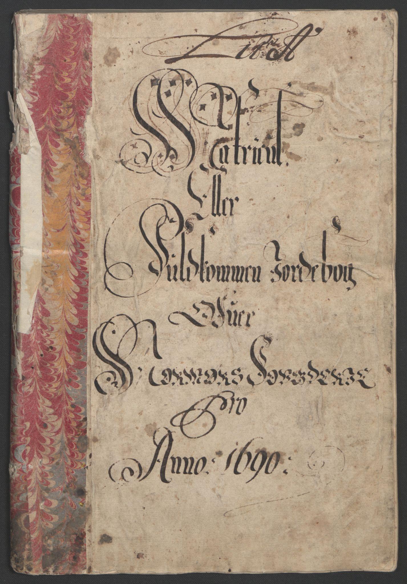 RA, Rentekammeret inntil 1814, Reviderte regnskaper, Fogderegnskap, R56/L3734: Fogderegnskap Nordmøre, 1690-1691, s. 9