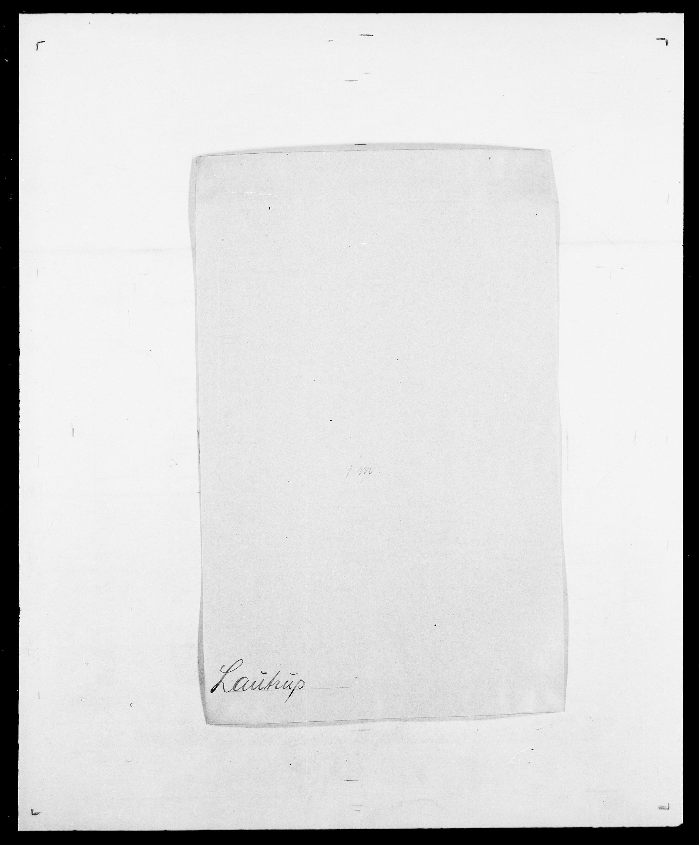 SAO, Delgobe, Charles Antoine - samling, D/Da/L0023: Lau - Lirvyn, s. 27