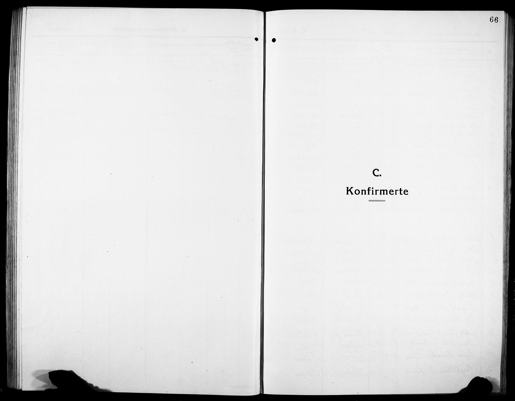 SAT, Ministerialprotokoller, klokkerbøker og fødselsregistre - Sør-Trøndelag, 634/L0543: Klokkerbok nr. 634C05, 1917-1928, s. 66