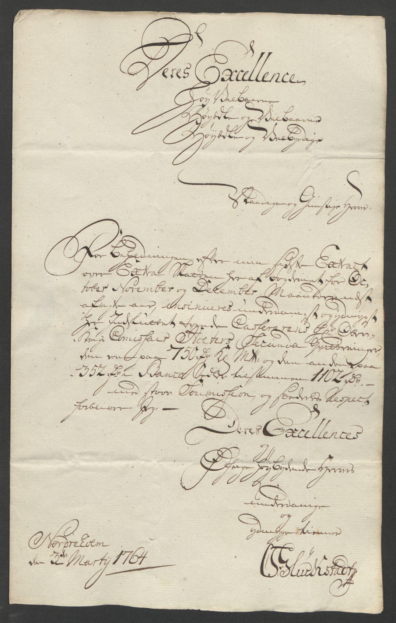 RA, Rentekammeret inntil 1814, Reviderte regnskaper, Fogderegnskap, R01/L0097: Ekstraskatten Idd og Marker, 1756-1767, s. 151