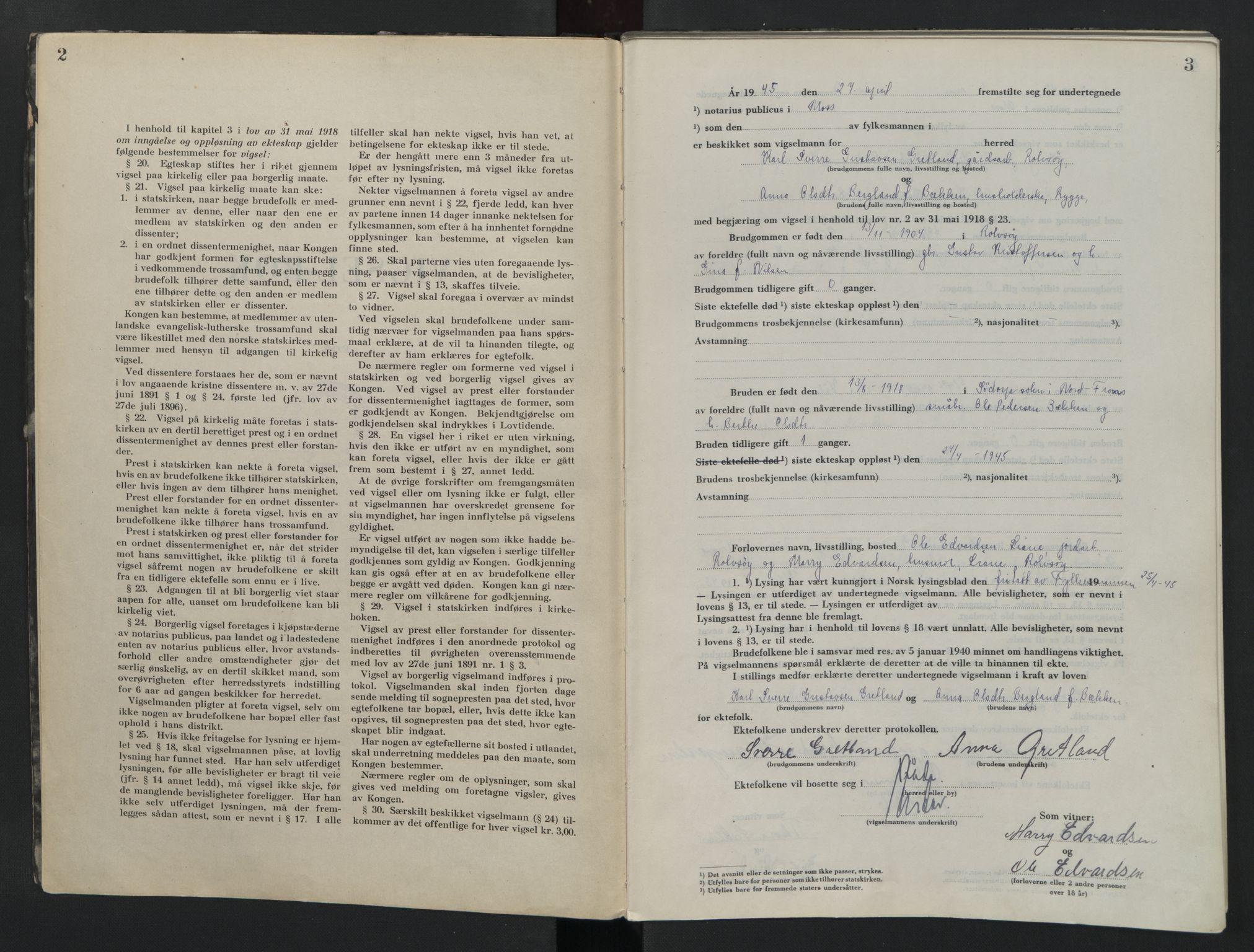 SAO, Moss sorenskriveri, 1945-1948, s. 2-3