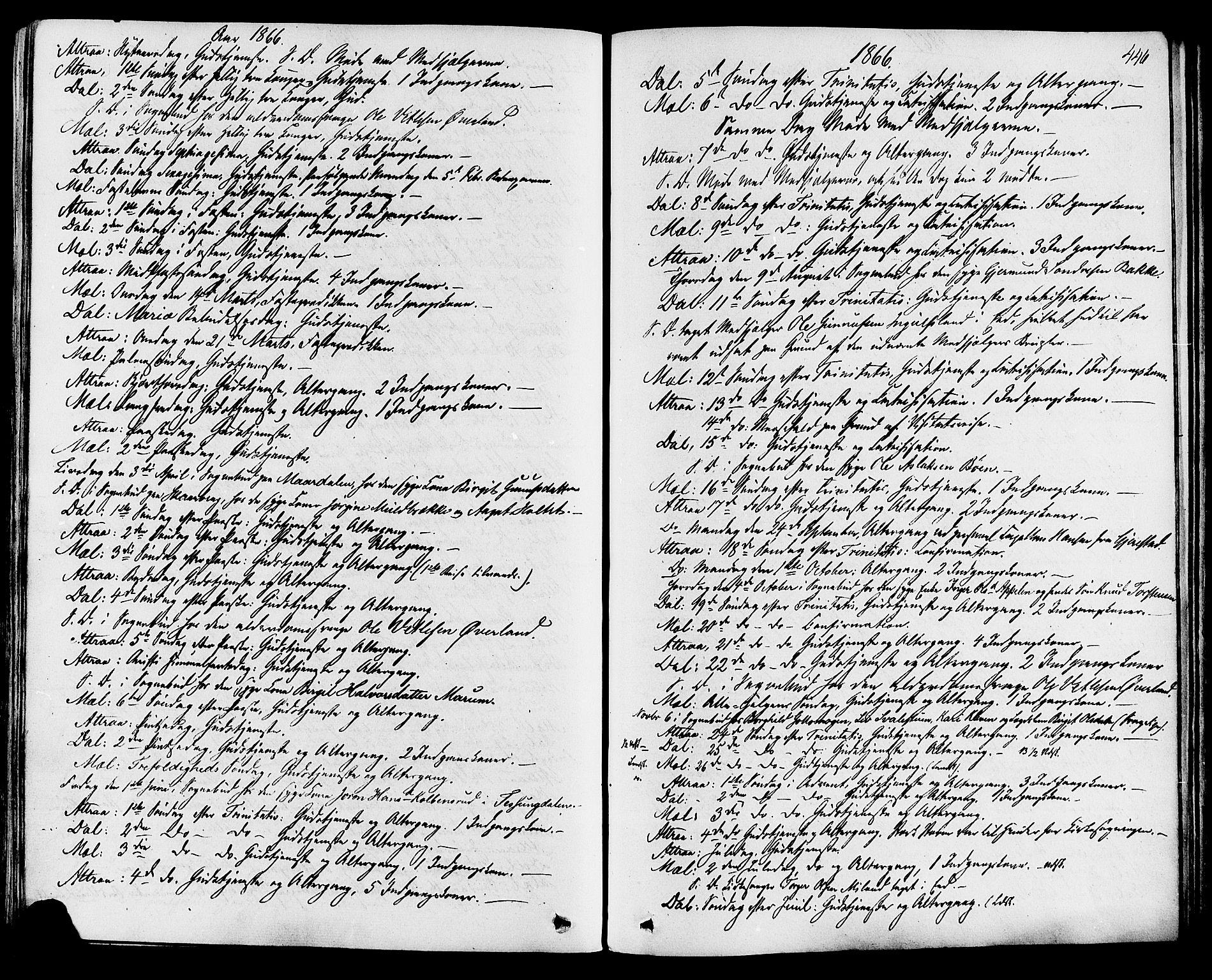 SAKO, Tinn kirkebøker, F/Fa/L0006: Ministerialbok nr. I 6, 1857-1878, s. 446