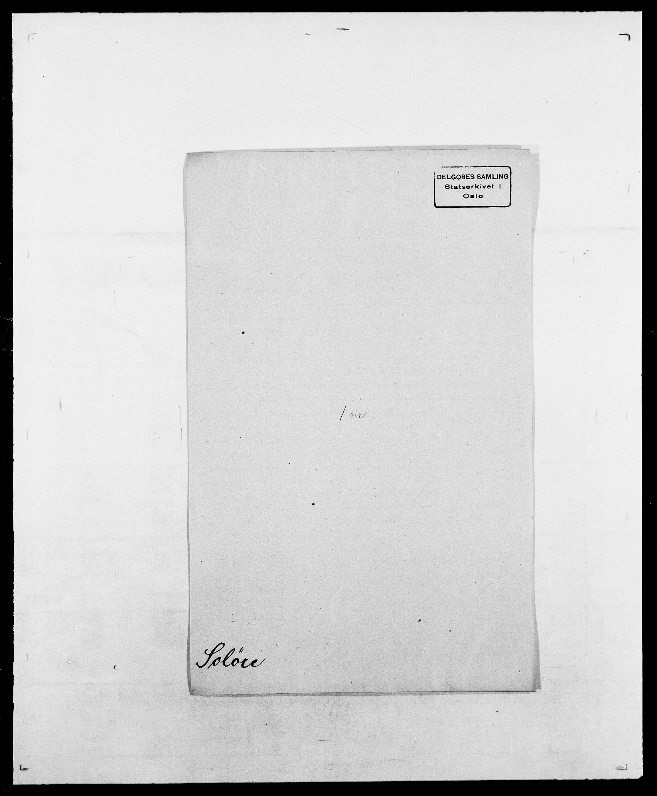 SAO, Delgobe, Charles Antoine - samling, D/Da/L0036: Skaanør - Staverskov, s. 418