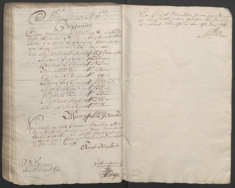 RA, Rentekammeret inntil 1814, Reviderte regnskaper, Fogderegnskap, R56/L3841: Ekstraskatten Nordmøre, 1762-1763, s. 159