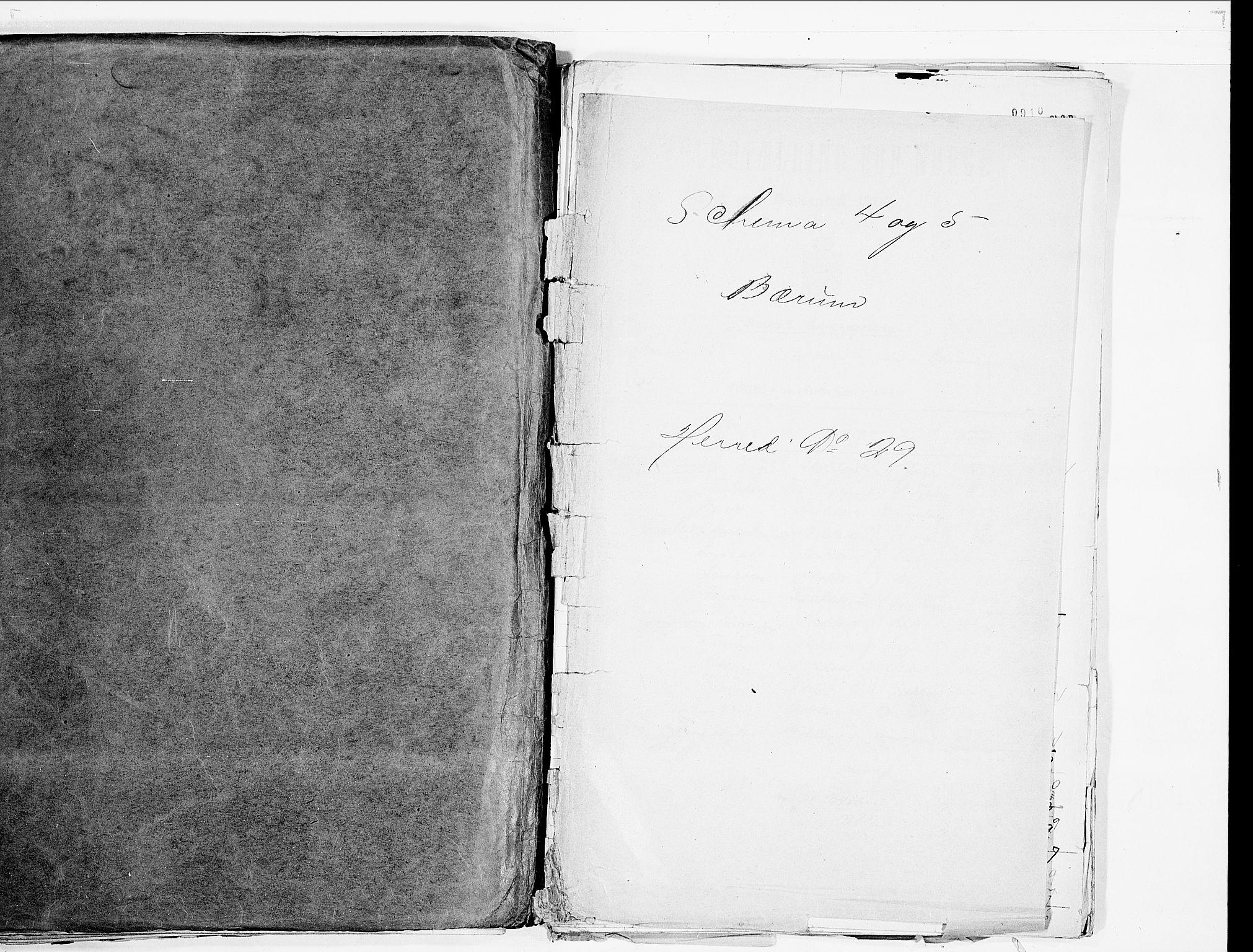 SAO, Folketelling 1900 for 0219 Bærum herred, 1900, s. 1