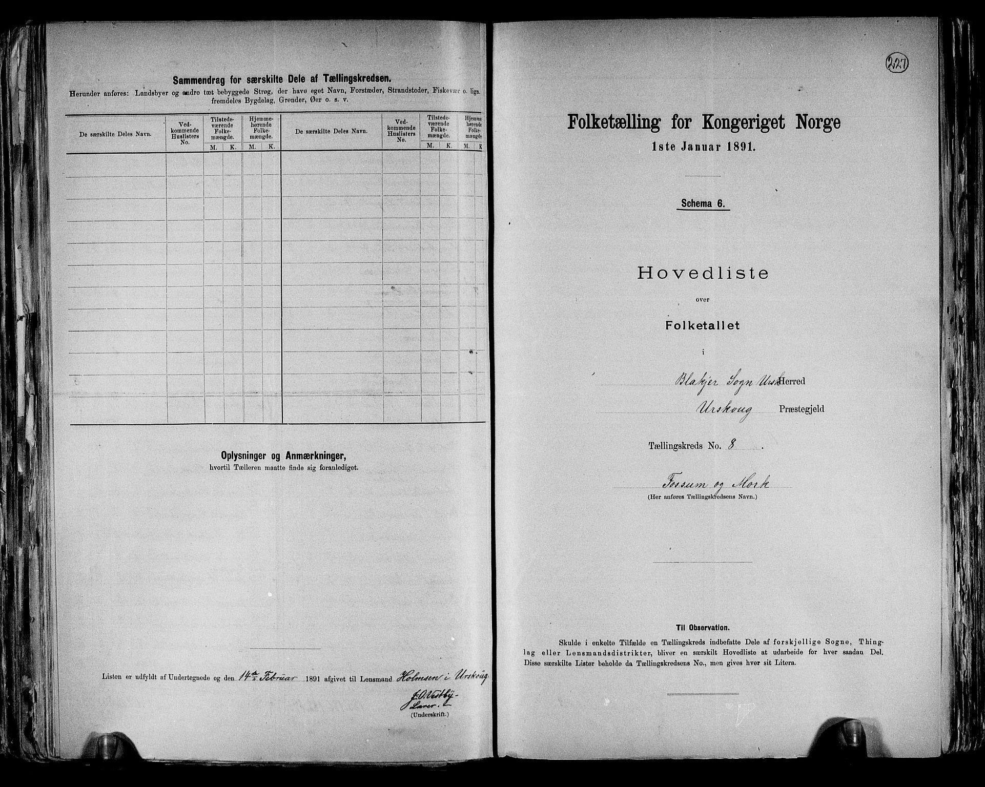 RA, Folketelling 1891 for 0224 Aurskog herred, 1891, s. 24