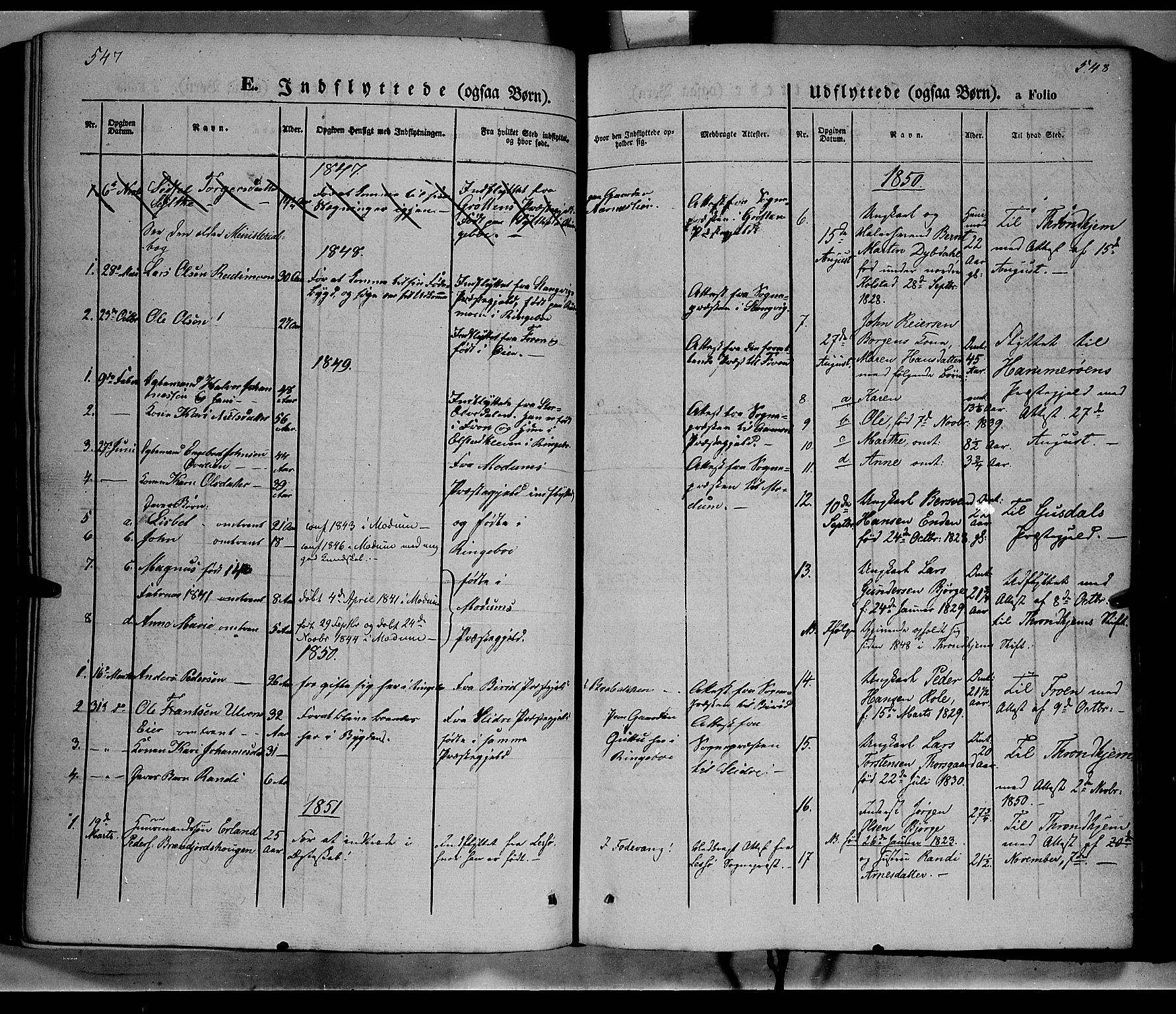 SAH, Ringebu prestekontor, Ministerialbok nr. 6, 1848-1859, s. 547-548