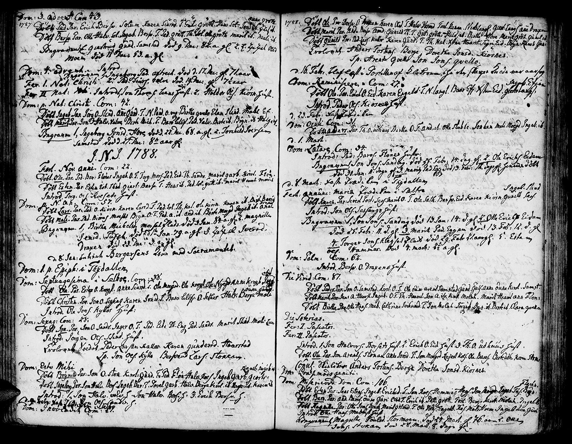 SAT, Ministerialprotokoller, klokkerbøker og fødselsregistre - Sør-Trøndelag, 695/L1138: Ministerialbok nr. 695A02 /1, 1757-1801, s. 126
