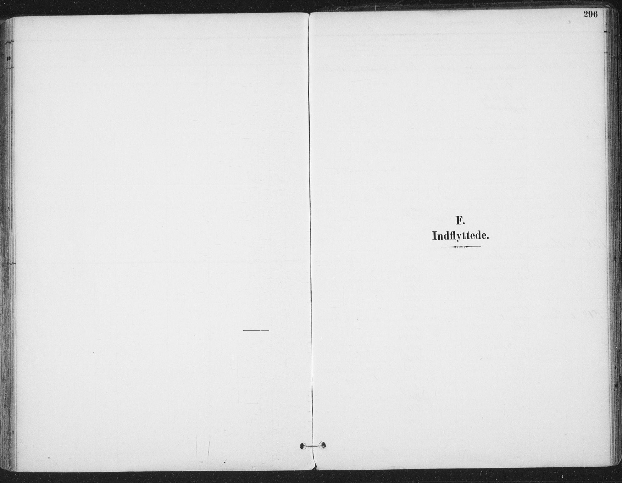 SAT, Ministerialprotokoller, klokkerbøker og fødselsregistre - Sør-Trøndelag, 659/L0743: Ministerialbok nr. 659A13, 1893-1910, s. 296