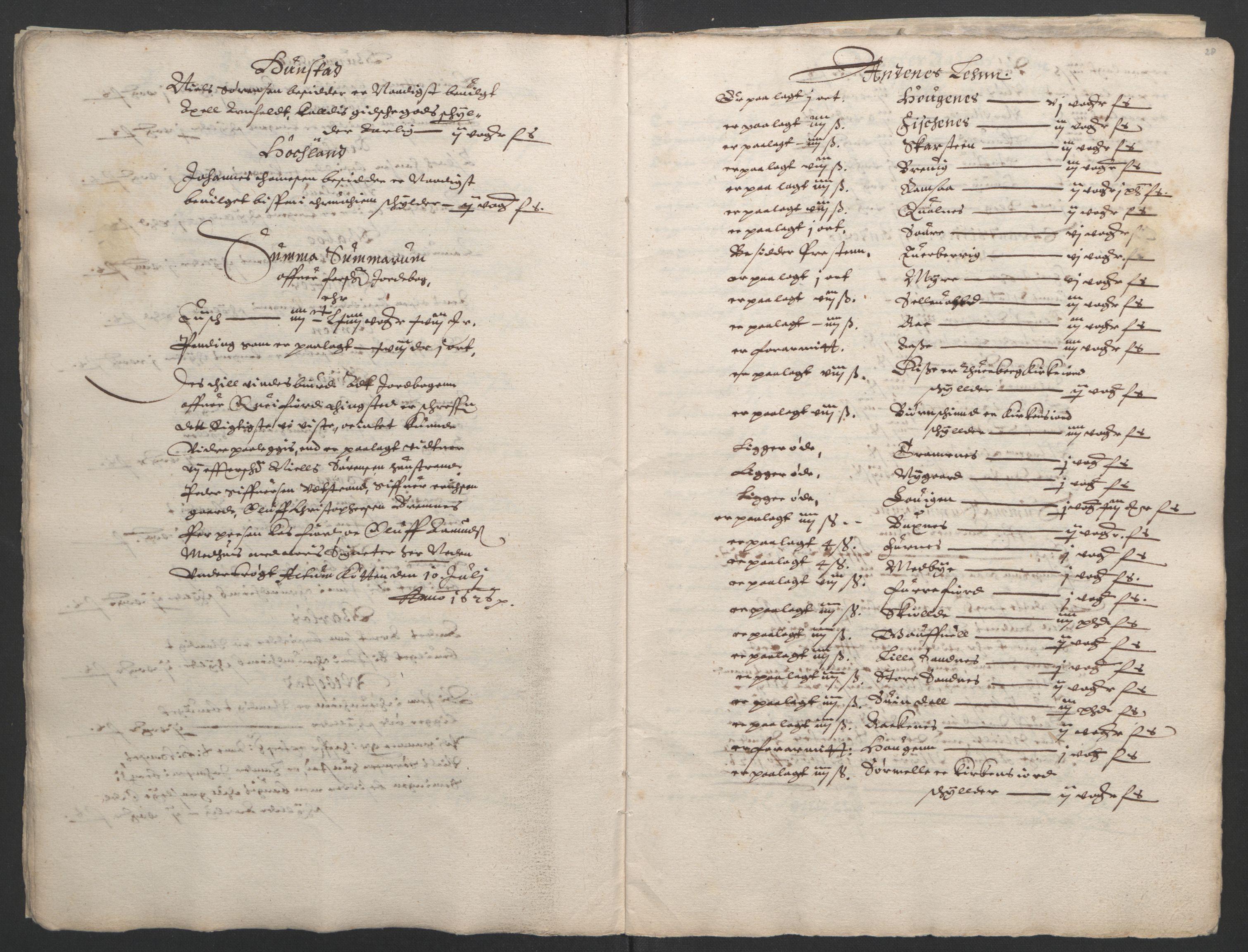RA, Stattholderembetet 1572-1771, Ek/L0006: Jordebøker til utlikning av garnisonsskatt 1624-1626:, 1626, s. 22
