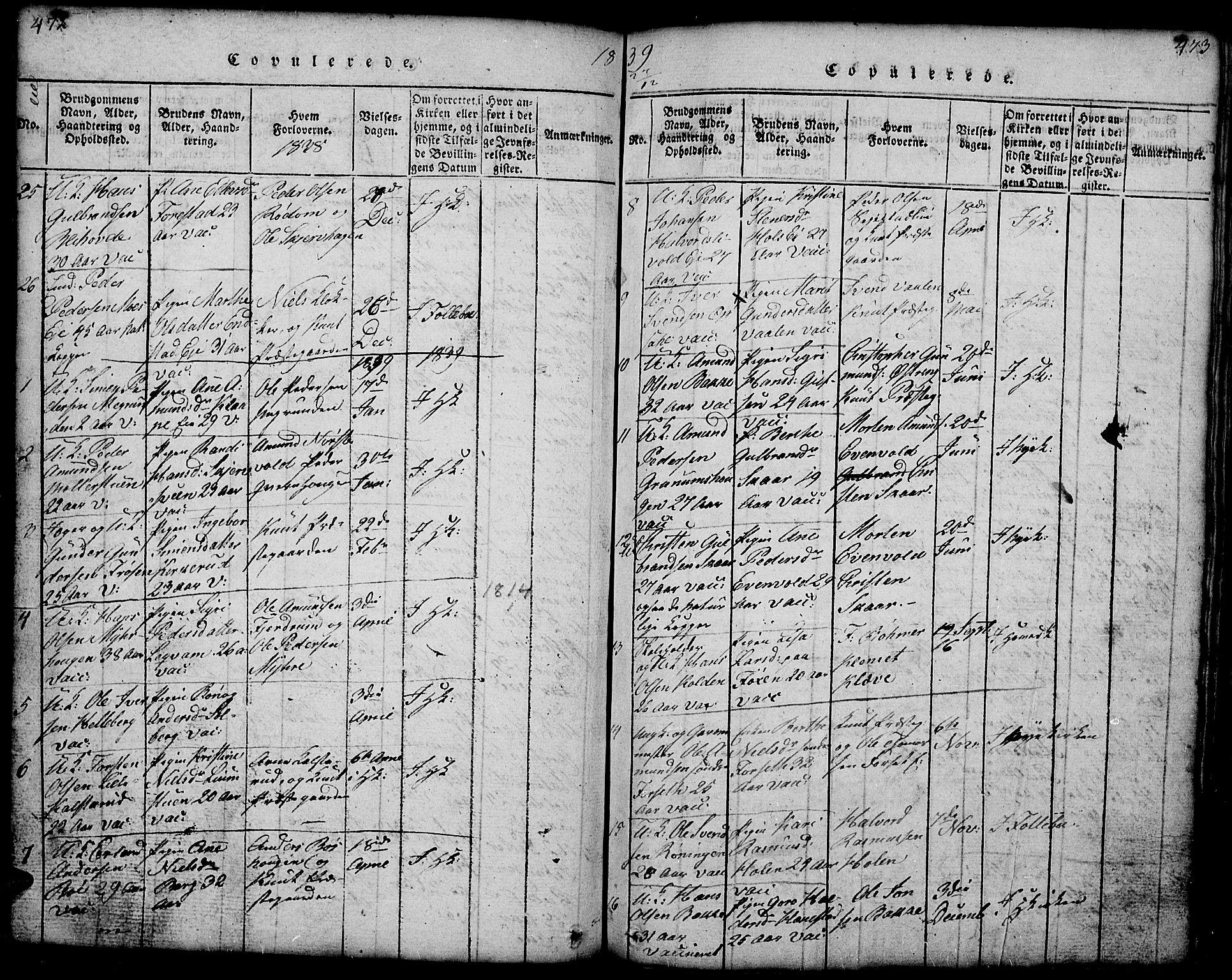 SAH, Gausdal prestekontor, Klokkerbok nr. 1, 1817-1848, s. 472-473