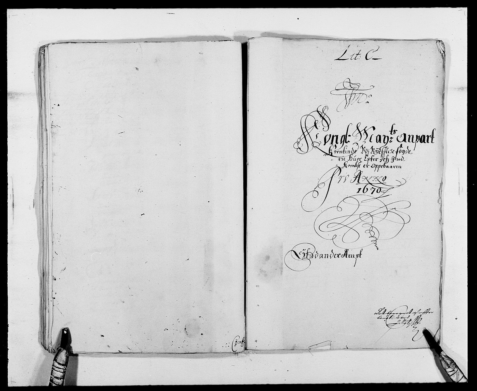 RA, Rentekammeret inntil 1814, Reviderte regnskaper, Fogderegnskap, R47/L2843: Fogderegnskap Ryfylke, 1670-1671, s. 49