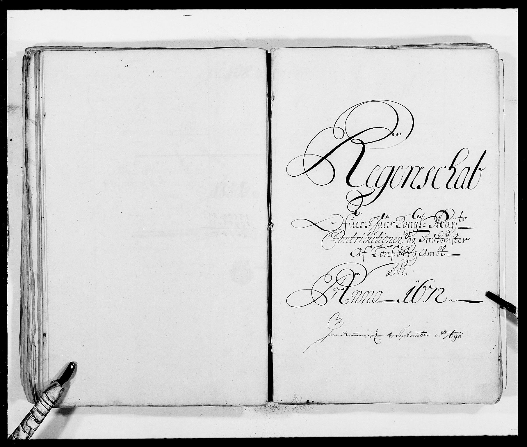 RA, Rentekammeret inntil 1814, Reviderte regnskaper, Fogderegnskap, R32/L1839: Fogderegnskap Jarlsberg grevskap, 1664-1673, s. 118