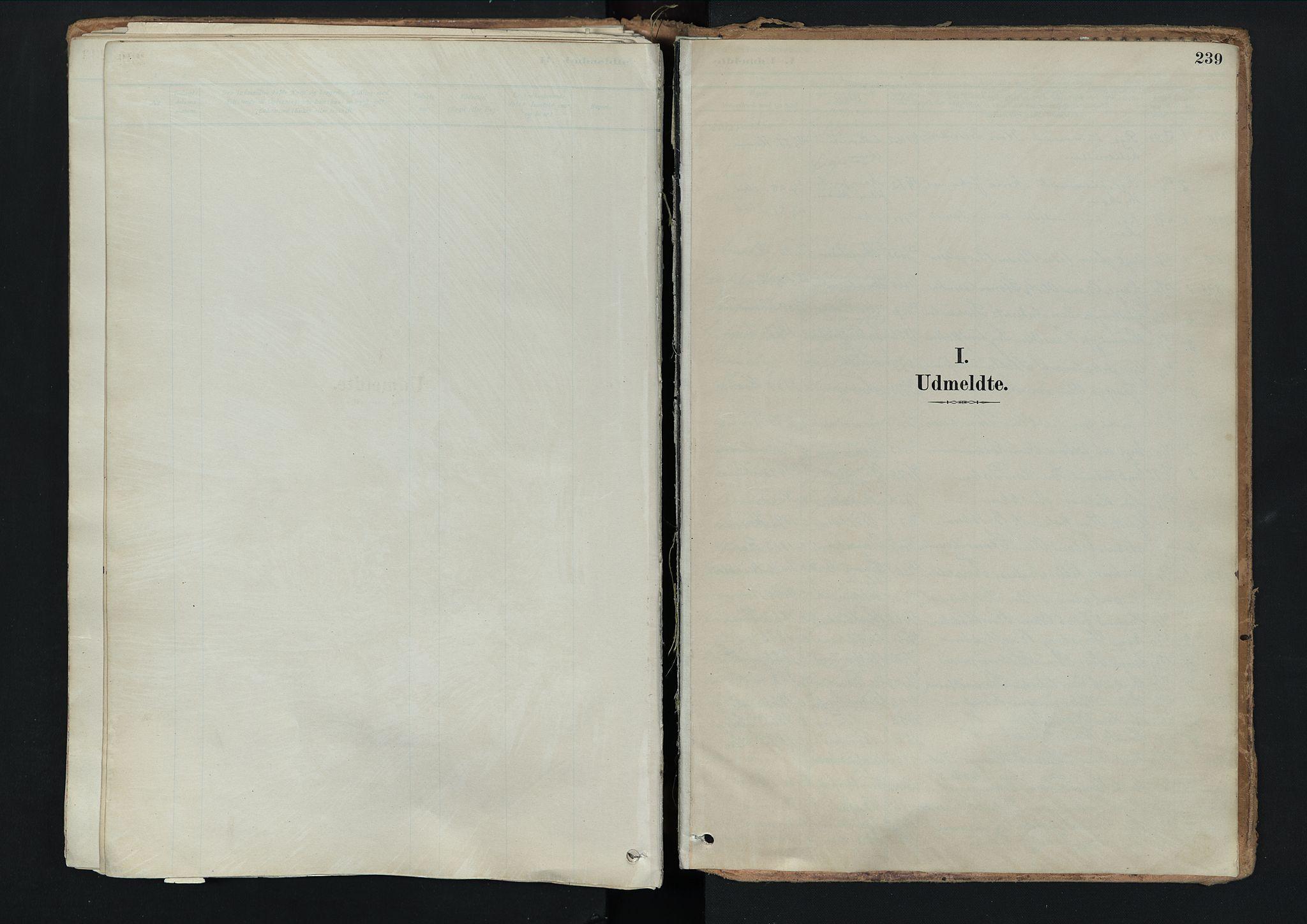 SAH, Nord-Fron prestekontor, Ministerialbok nr. 3, 1884-1914, s. 239