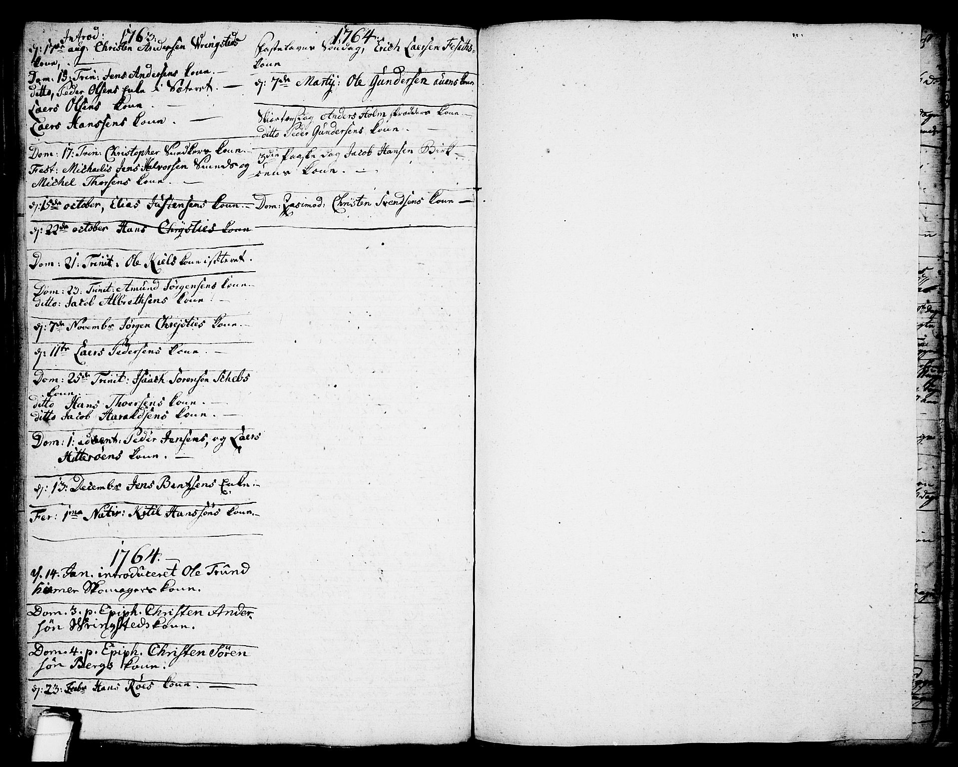 SAKO, Brevik kirkebøker, F/Fa/L0002: Ministerialbok nr. 2, 1720-1764, s. 47e