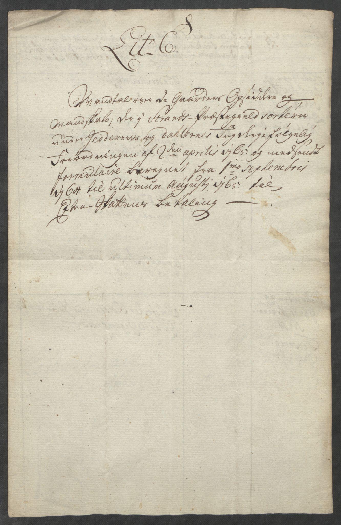 RA, Rentekammeret inntil 1814, Reviderte regnskaper, Fogderegnskap, R46/L2836: Ekstraskatten Jæren og Dalane, 1764-1766, s. 161