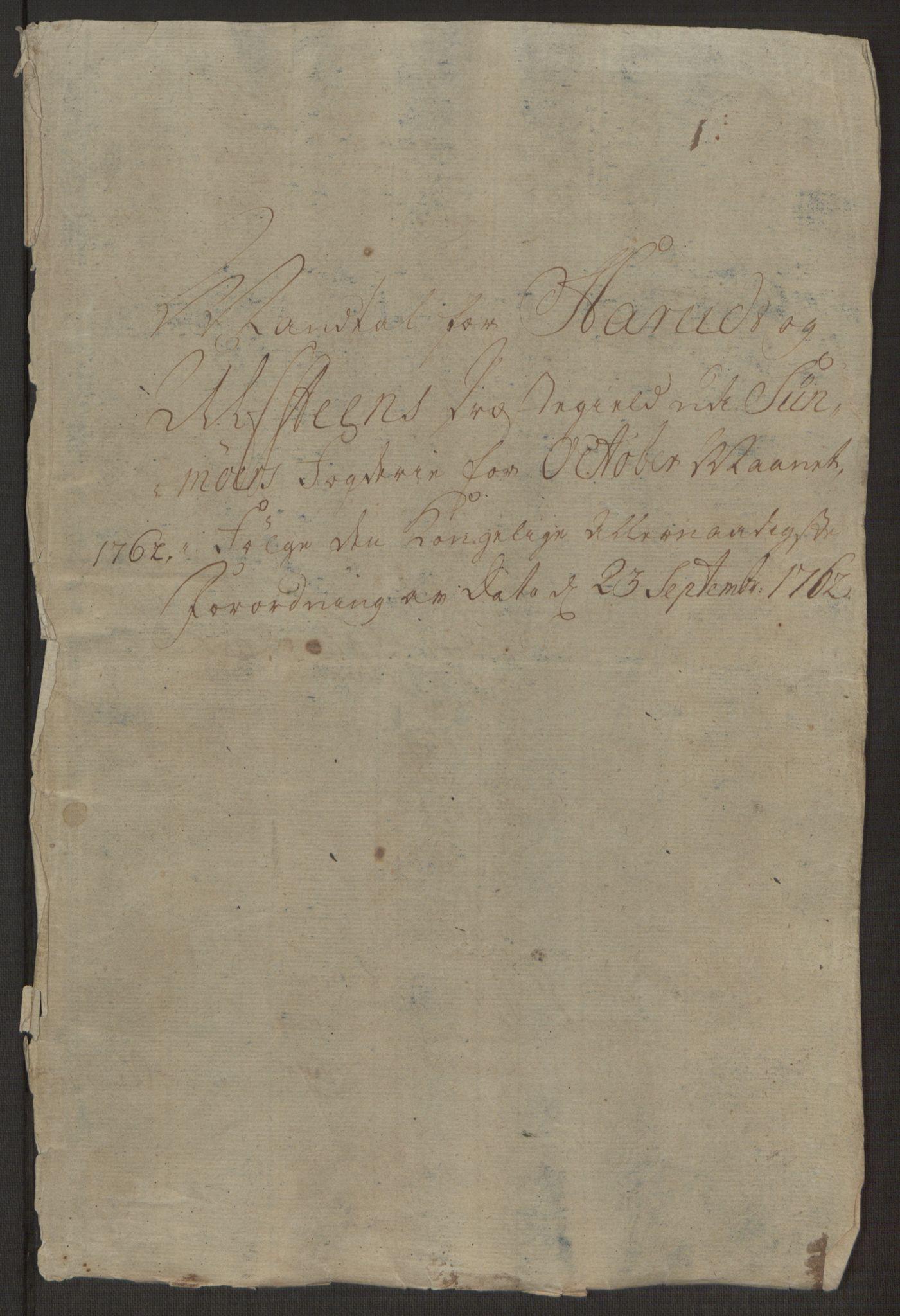 RA, Rentekammeret inntil 1814, Realistisk ordnet avdeling, Ol/L0019: [Gg 10]: Ekstraskatten, 23.09.1762. Sunnmøre, 1762-1763, s. 423
