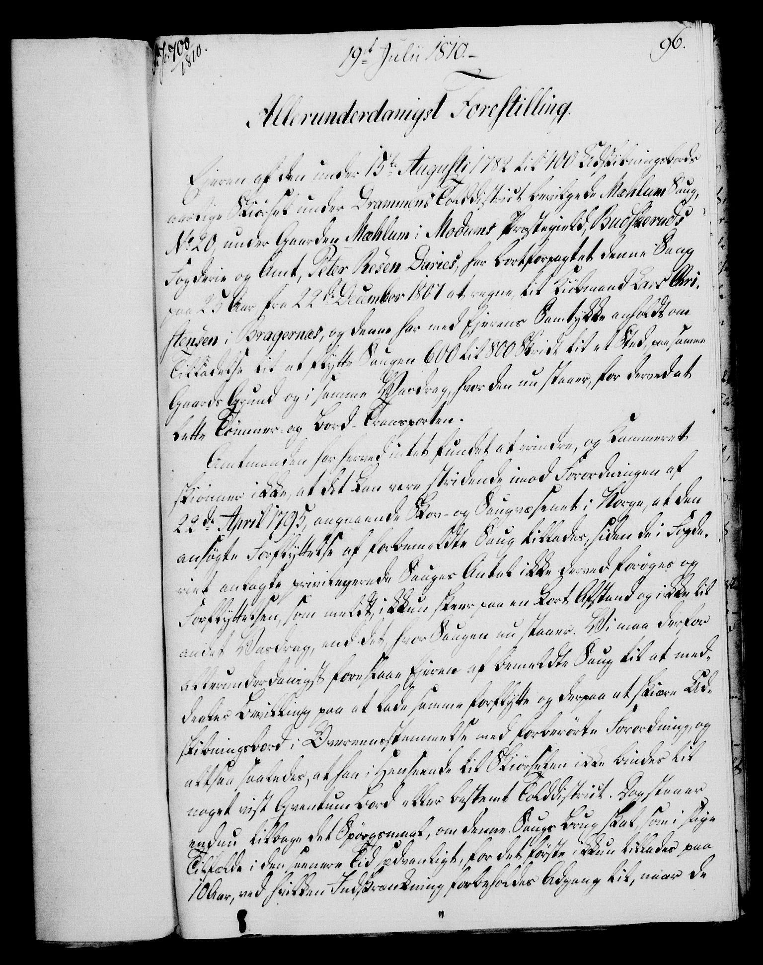 RA, Rentekammeret, Kammerkanselliet, G/Gf/Gfa/L0092: Norsk relasjons- og resolusjonsprotokoll (merket RK 52.92), 1810, s. 365