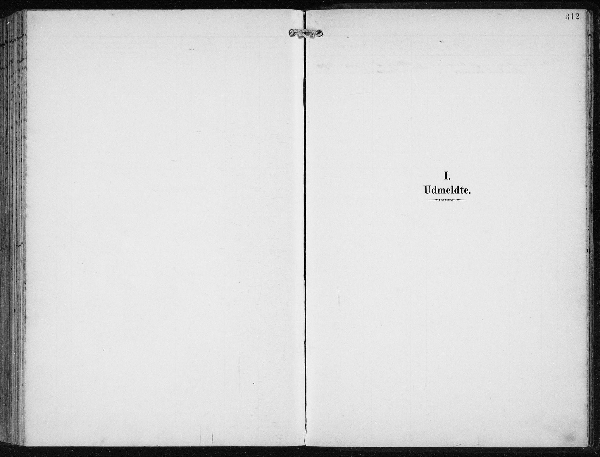 SAB, Fjell sokneprestembete, H/Haa: Ministerialbok nr. A  9, 1899-1910, s. 312