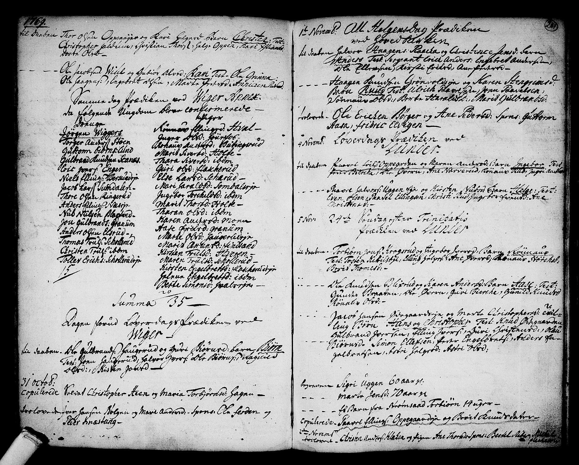 SAKO, Norderhov kirkebøker, F/Fa/L0004: Ministerialbok nr. 4, 1758-1774, s. 201