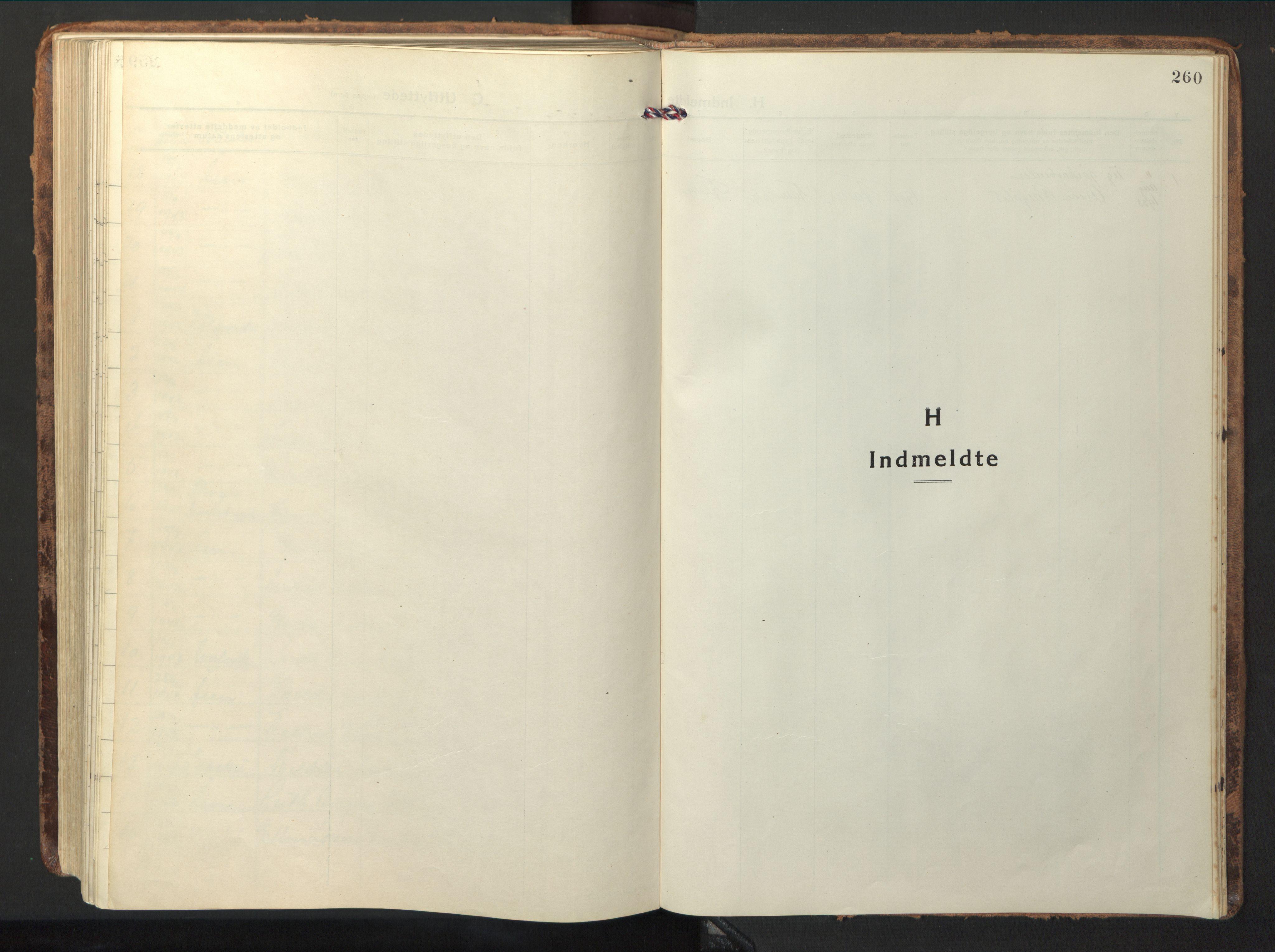 SAT, Ministerialprotokoller, klokkerbøker og fødselsregistre - Nord-Trøndelag, 714/L0136: Klokkerbok nr. 714C05, 1918-1957, s. 260