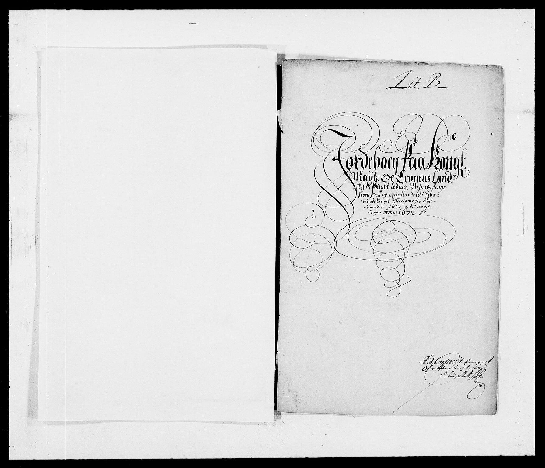 RA, Rentekammeret inntil 1814, Reviderte regnskaper, Fogderegnskap, R40/L2433: Fogderegnskap Råbyggelag, 1671-1674, s. 9