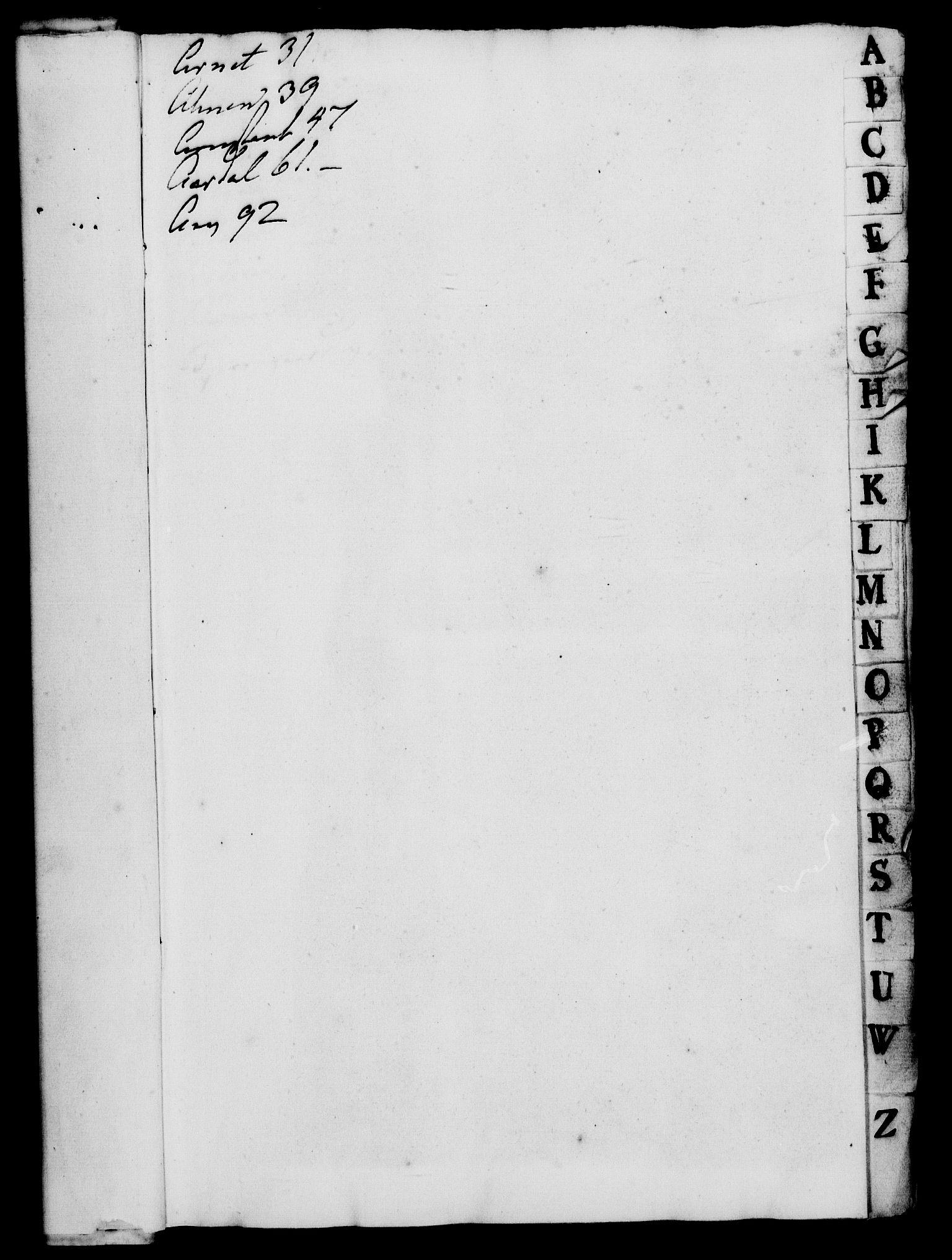 RA, Rentekammeret, Kammerkanselliet, G/Gf/Gfa/L0018: Norsk relasjons- og resolusjonsprotokoll (merket RK 52.18), 1735, s. 3