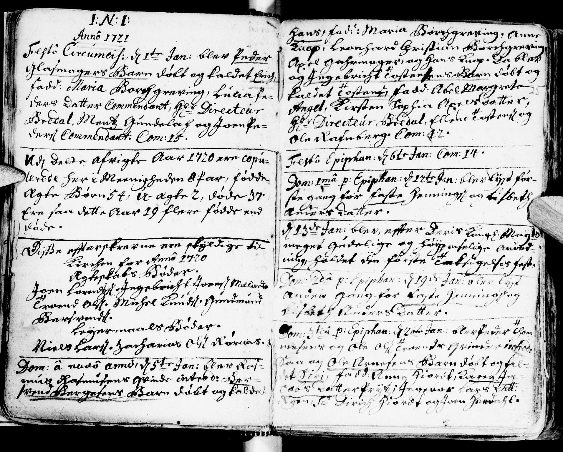 SAT, Ministerialprotokoller, klokkerbøker og fødselsregistre - Sør-Trøndelag, 681/L0924: Ministerialbok nr. 681A02, 1720-1731, s. 24-25