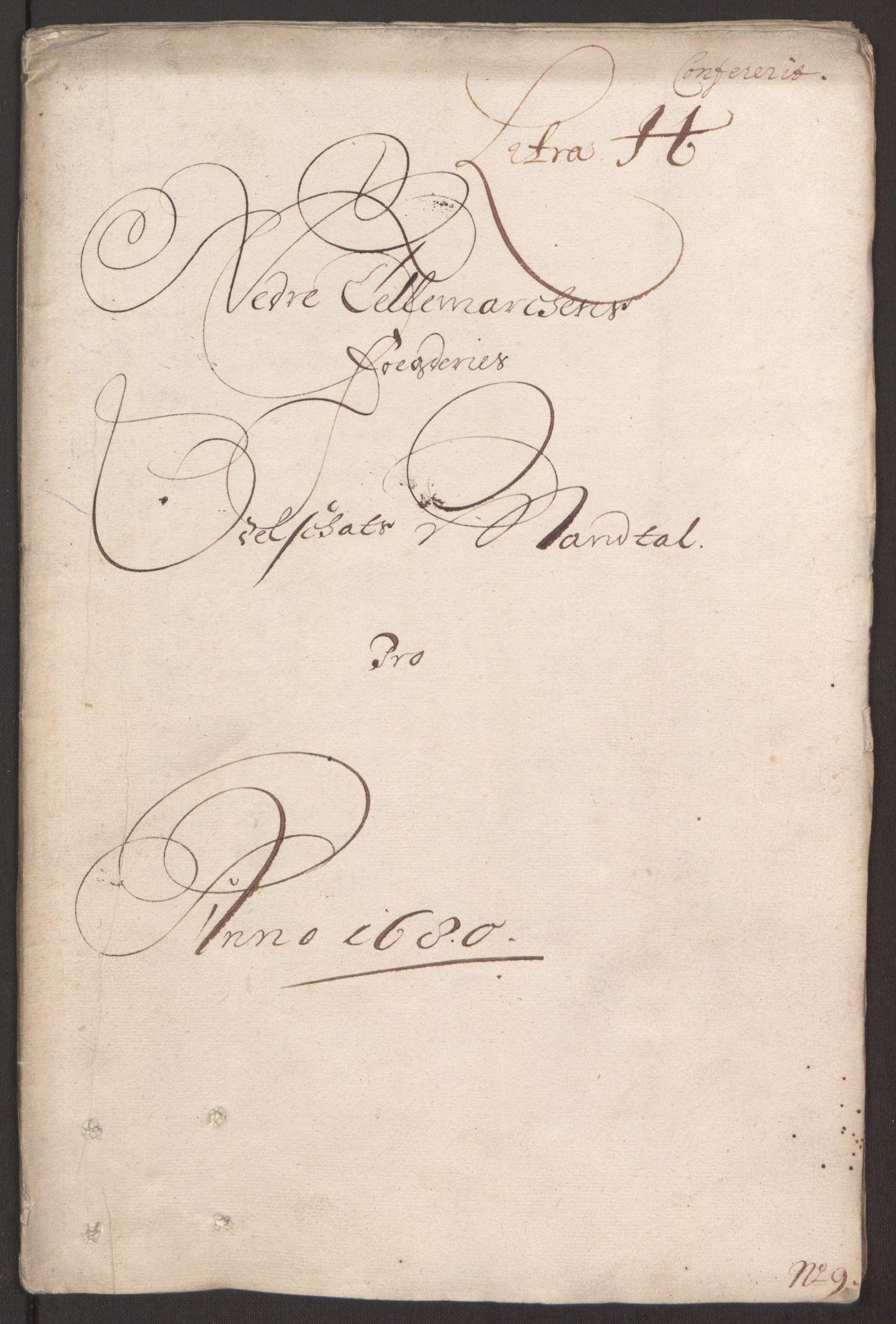 RA, Rentekammeret inntil 1814, Reviderte regnskaper, Fogderegnskap, R35/L2076: Fogderegnskap Øvre og Nedre Telemark, 1680-1684, s. 114