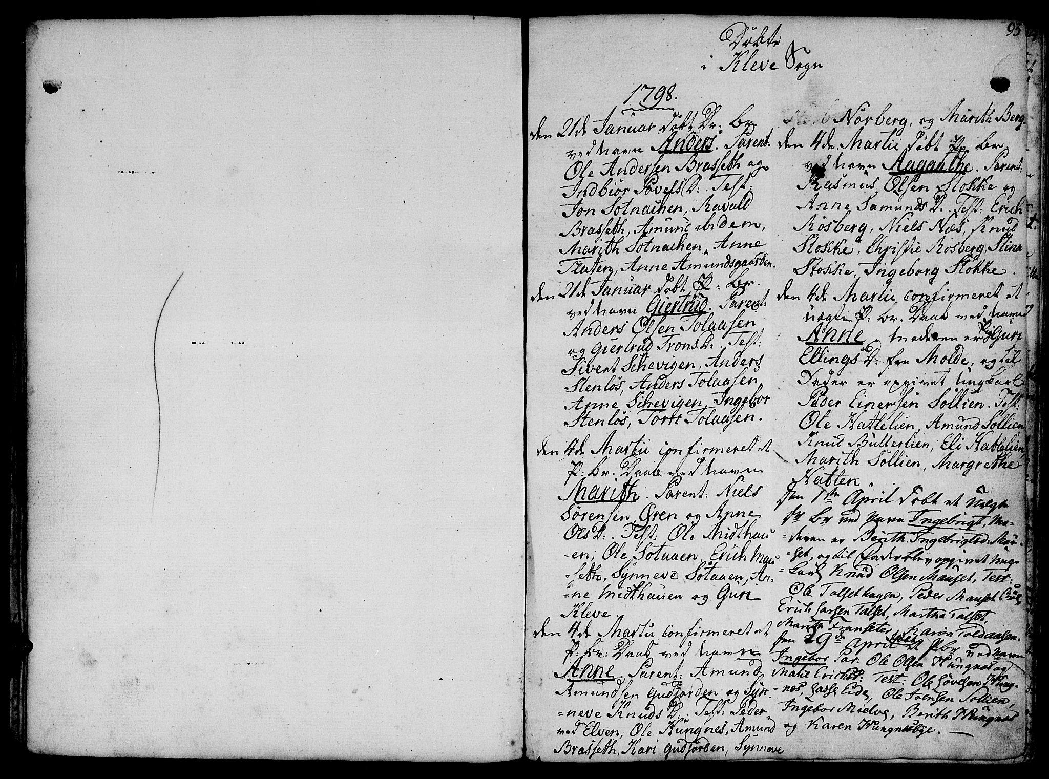 SAT, Ministerialprotokoller, klokkerbøker og fødselsregistre - Møre og Romsdal, 555/L0650: Ministerialbok nr. 555A02 /2, 1798-1821, s. 93
