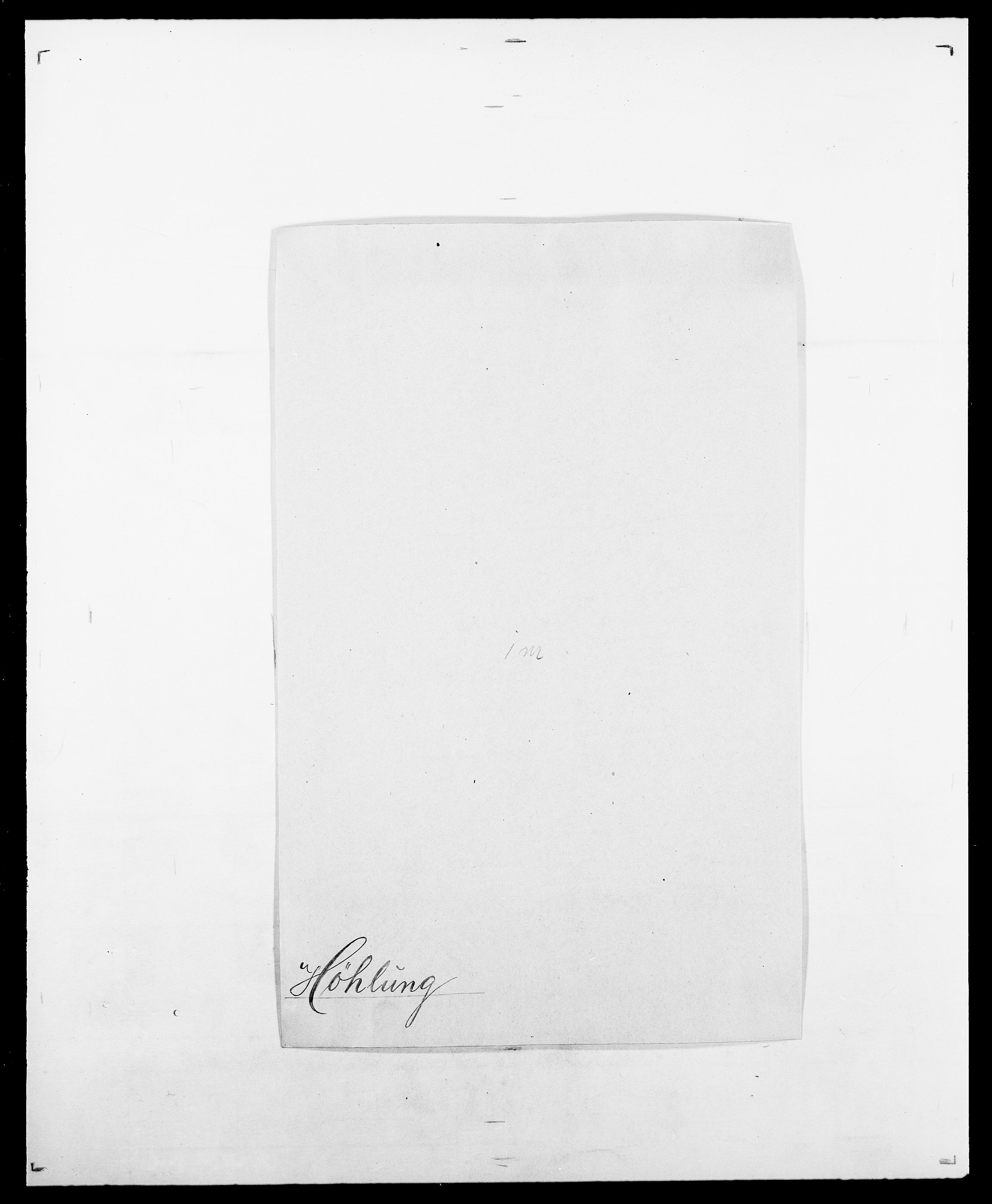 SAO, Delgobe, Charles Antoine - samling, D/Da/L0019: van der Hude - Joys, s. 350