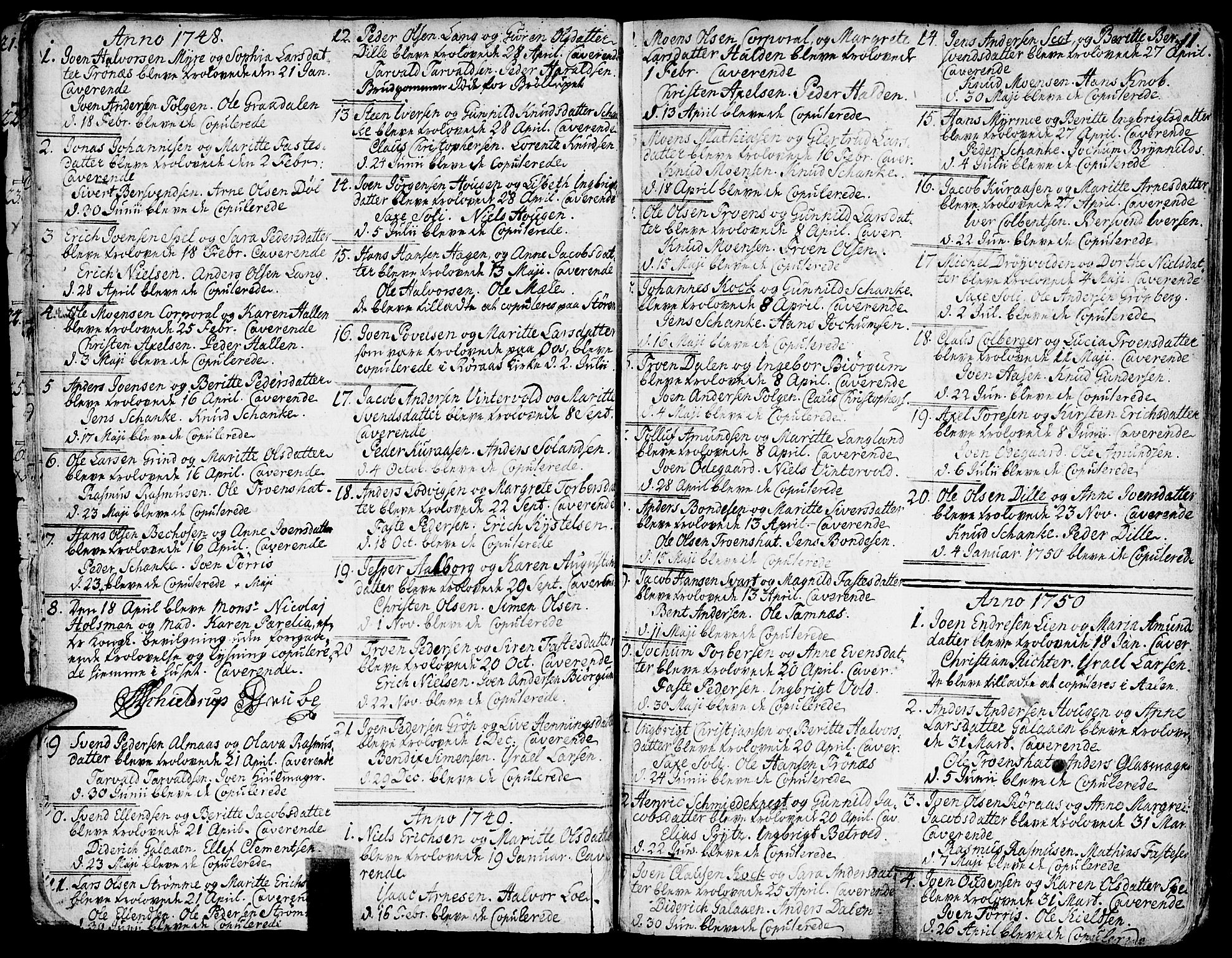SAT, Ministerialprotokoller, klokkerbøker og fødselsregistre - Sør-Trøndelag, 681/L0925: Ministerialbok nr. 681A03, 1727-1766, s. 11