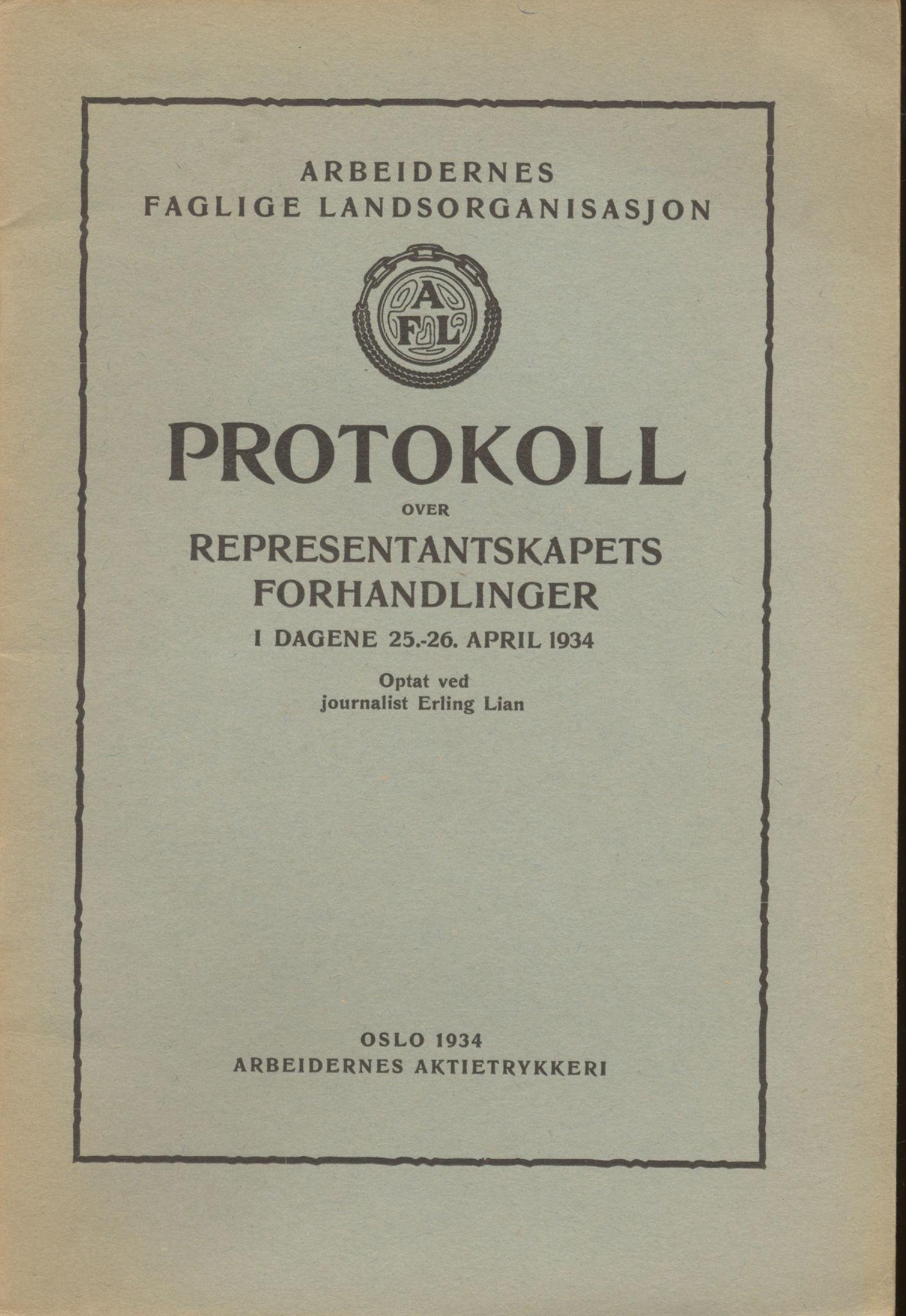AAB, Landsorganisasjonen i Norge, 1911-1953, s. 126