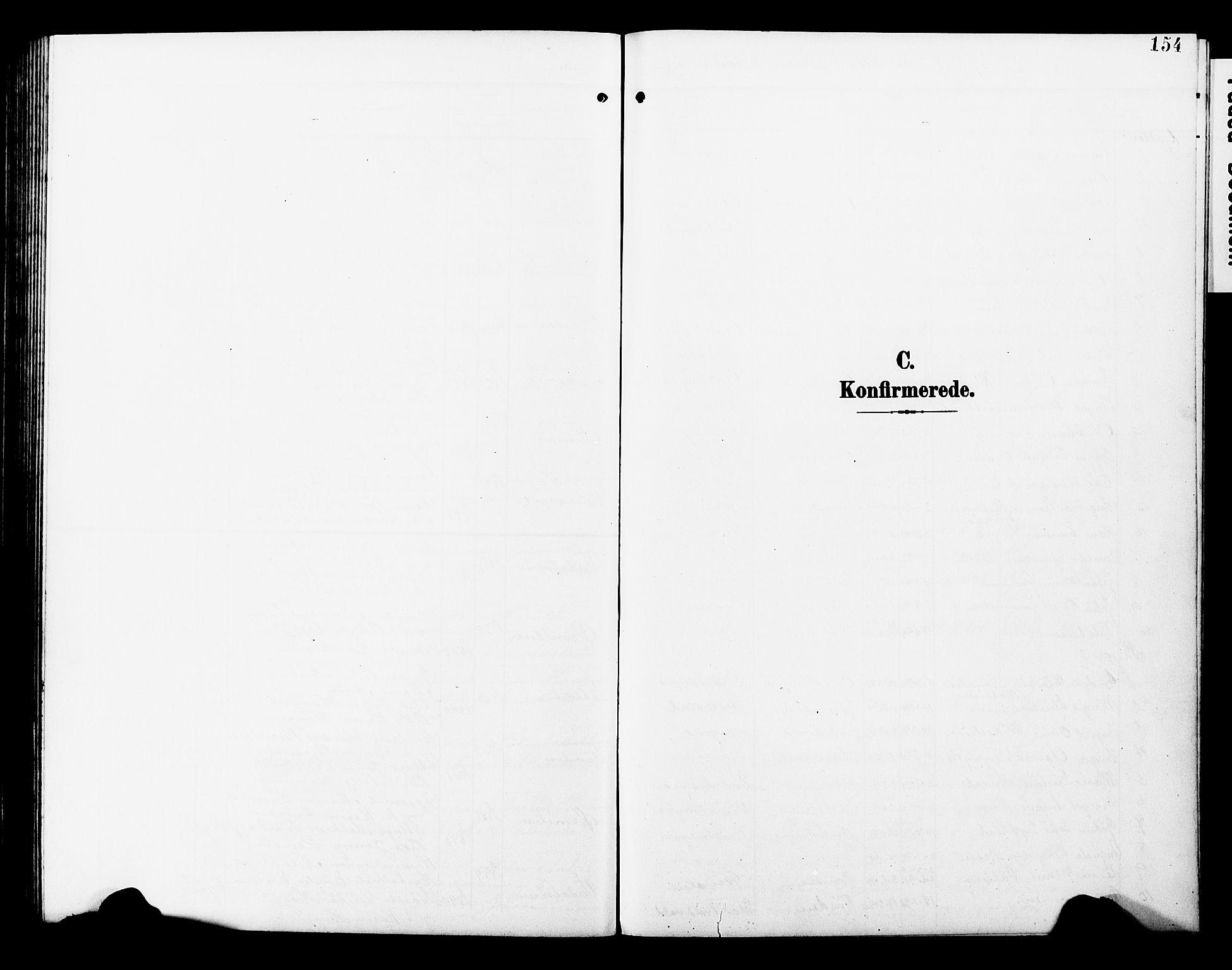 SAT, Ministerialprotokoller, klokkerbøker og fødselsregistre - Nord-Trøndelag, 723/L0258: Klokkerbok nr. 723C06, 1908-1927, s. 154