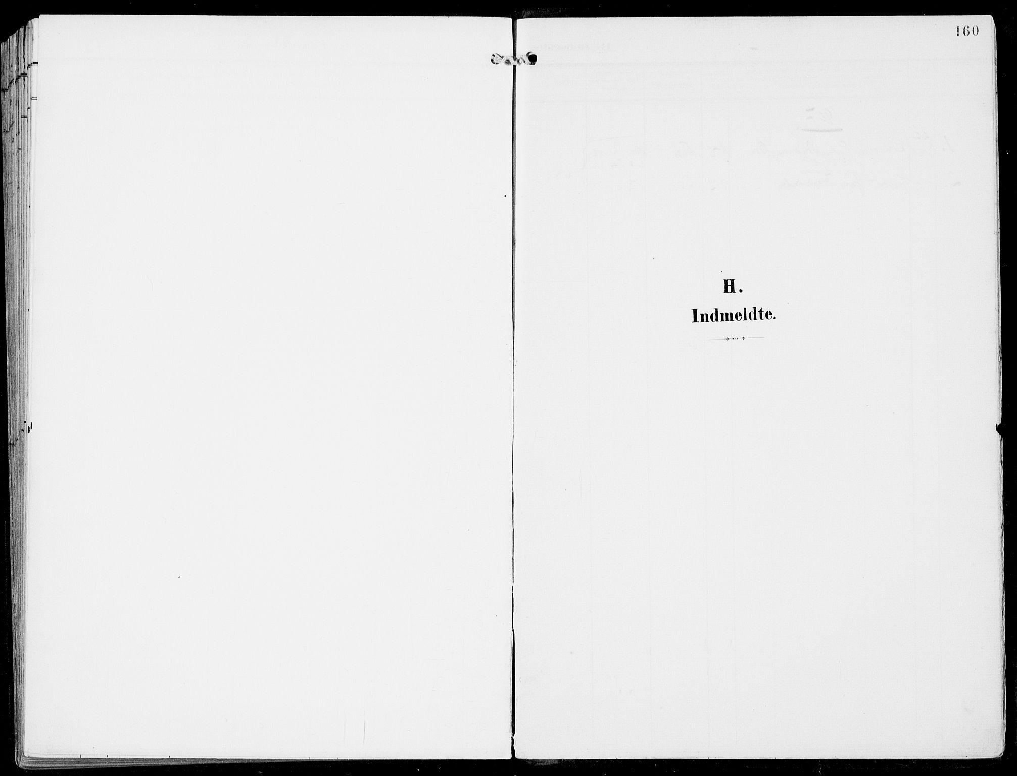 SAB, Ulvik Sokneprestembete, H/Haa: Ministerialbok nr. B  2, 1898-1924, s. 160