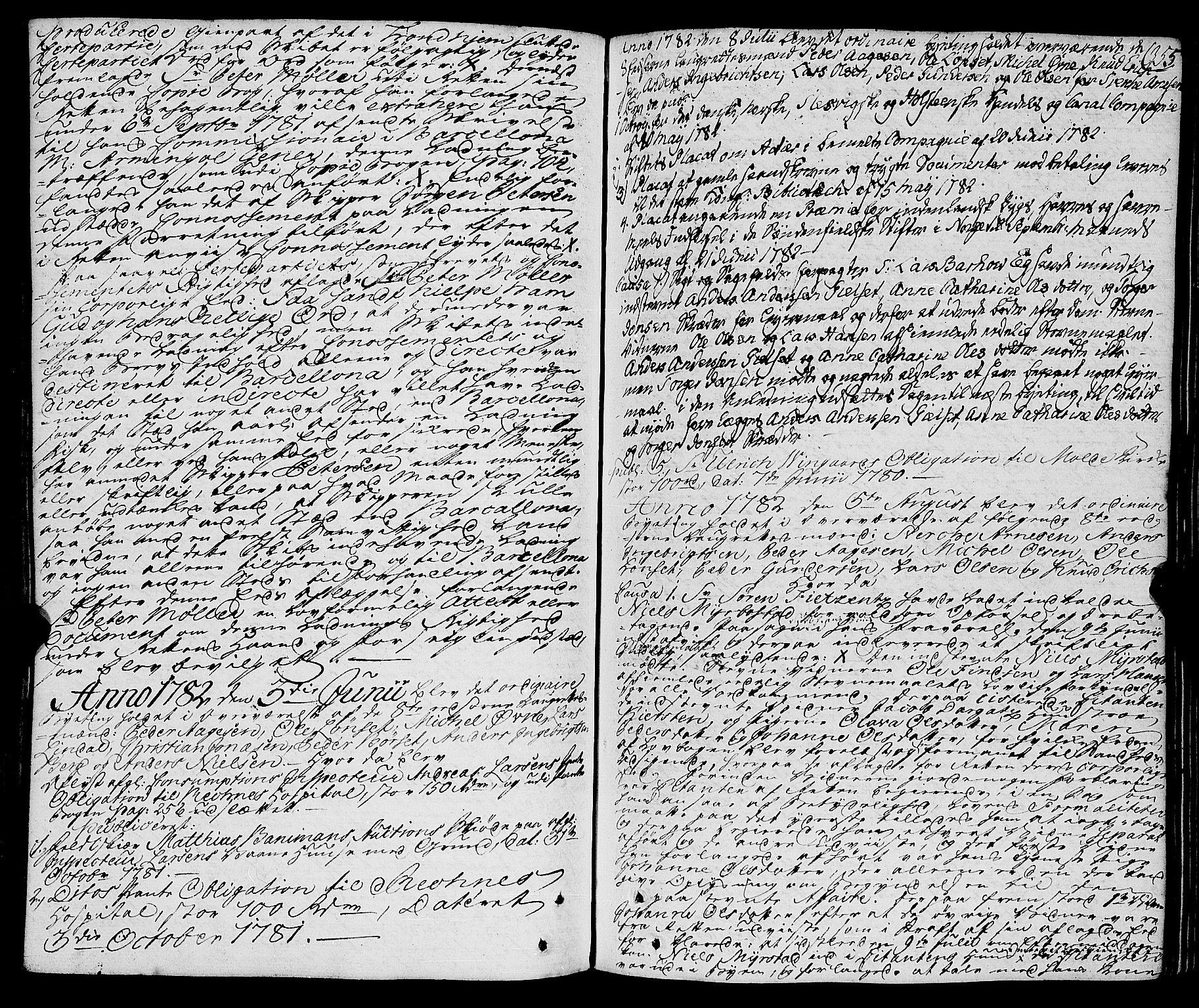 SAT, Molde byfogd, 1/1A/L0001: Justisprotokoll, 1764-1796, s. 356