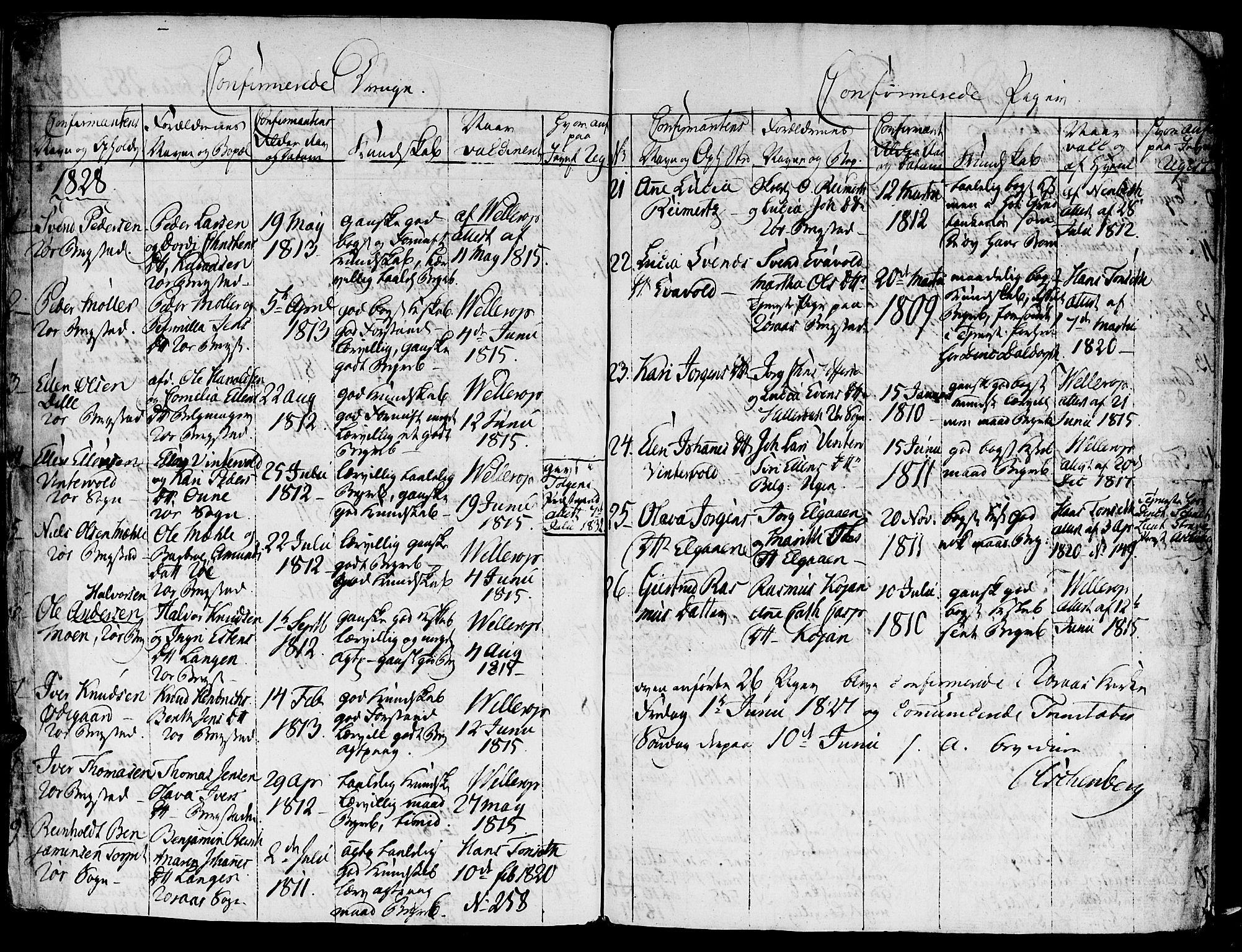 SAT, Ministerialprotokoller, klokkerbøker og fødselsregistre - Sør-Trøndelag, 681/L0929: Ministerialbok nr. 681A07, 1817-1828, s. 285d