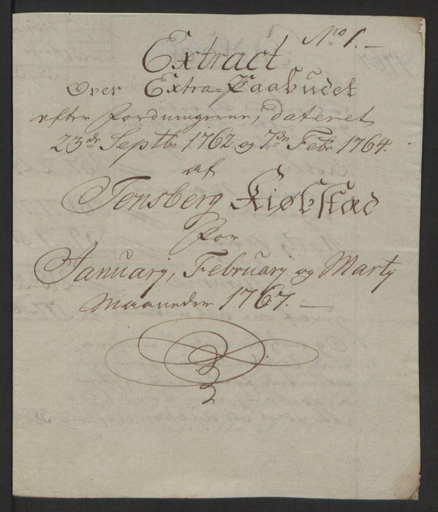 RA, Rentekammeret inntil 1814, Reviderte regnskaper, Byregnskaper, R/Rh/L0162: [H4] Kontribusjonsregnskap, 1762-1772, s. 292