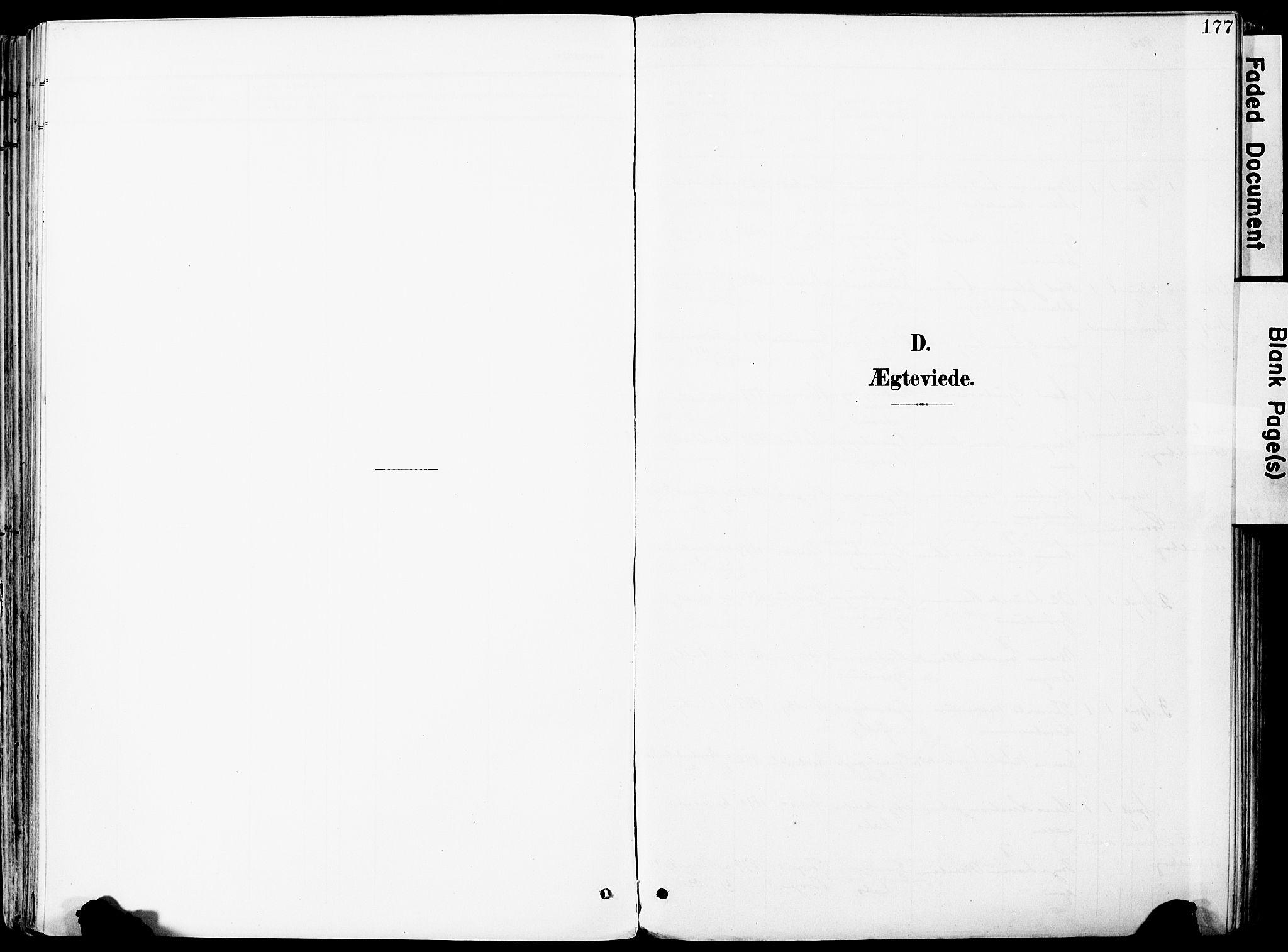 SAO, Vestby prestekontor Kirkebøker, F/Fa/L0010: Ministerialbok nr. I 10, 1900-1926, s. 177