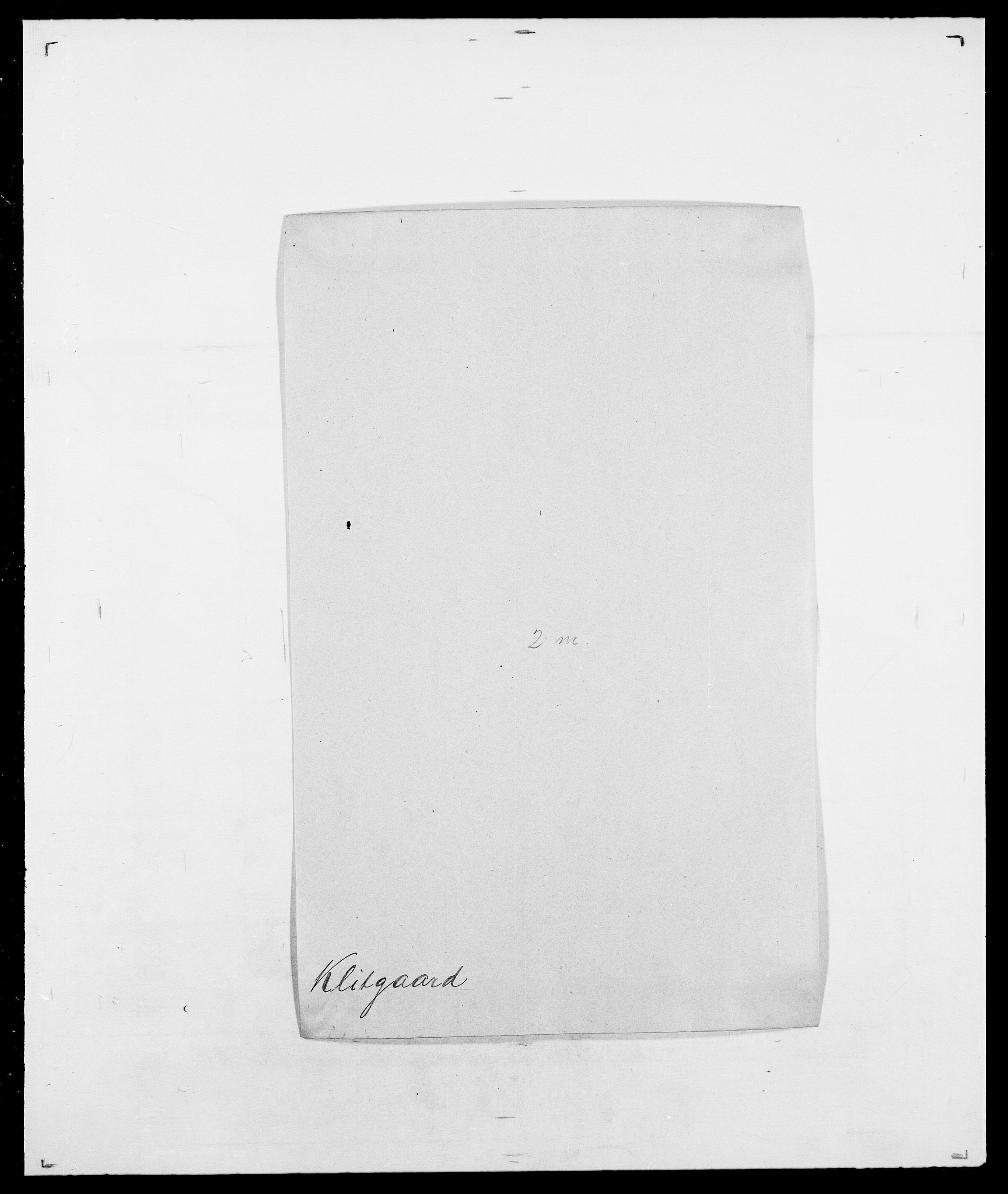 SAO, Delgobe, Charles Antoine - samling, D/Da/L0021: Klagenberg - Kristoft, s. 134