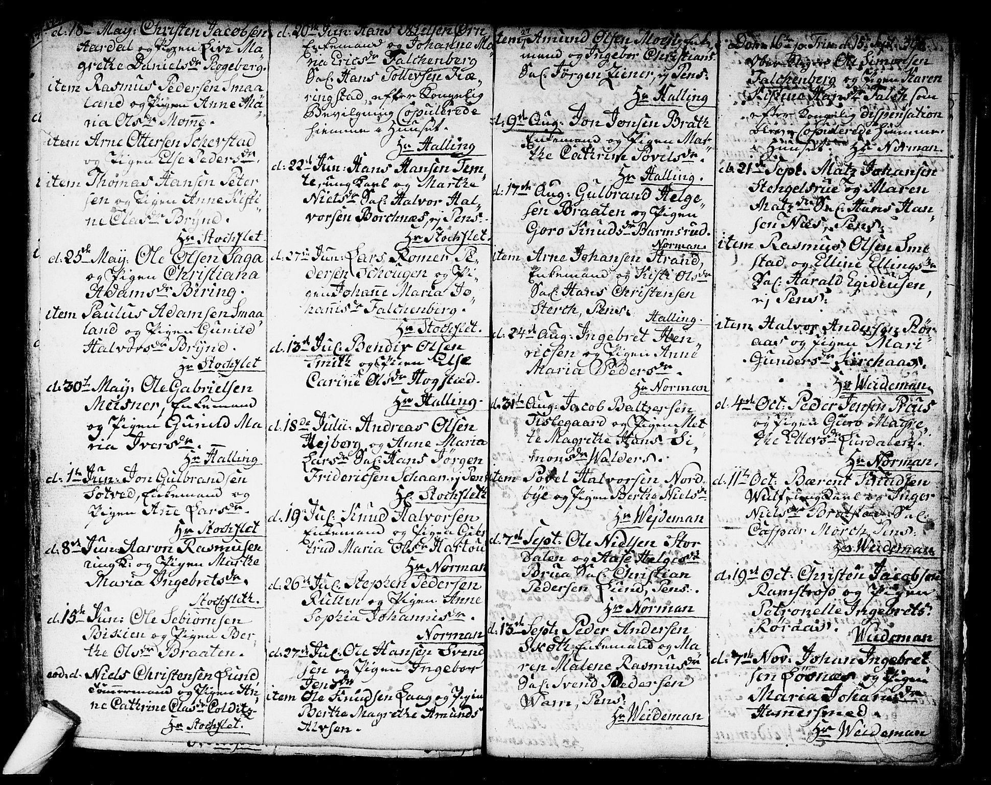 SAKO, Kongsberg kirkebøker, F/Fa/L0006: Ministerialbok nr. I 6, 1783-1797, s. 395