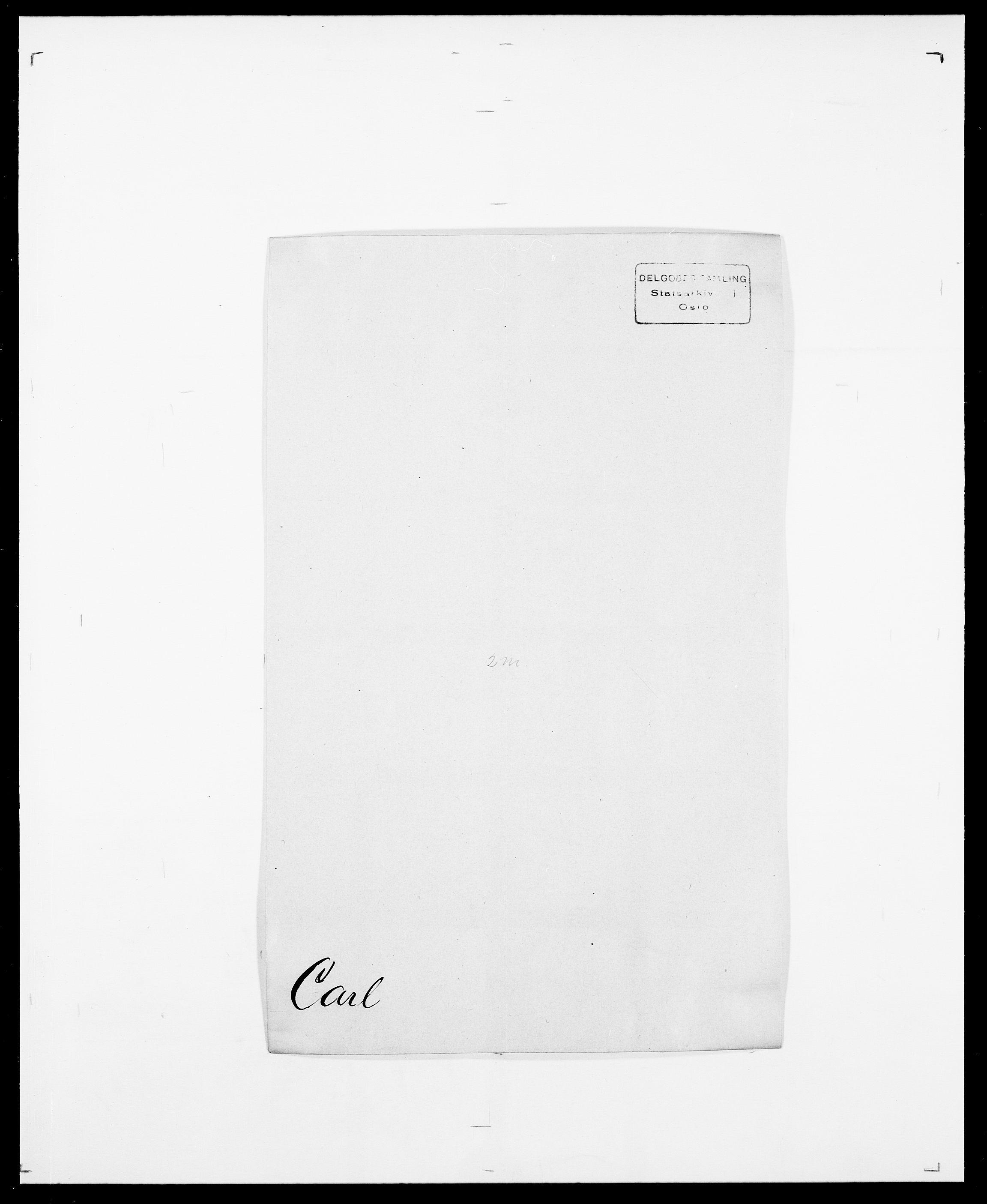 SAO, Delgobe, Charles Antoine - samling, D/Da/L0008: Capjon - Dagenbolt, s. 40