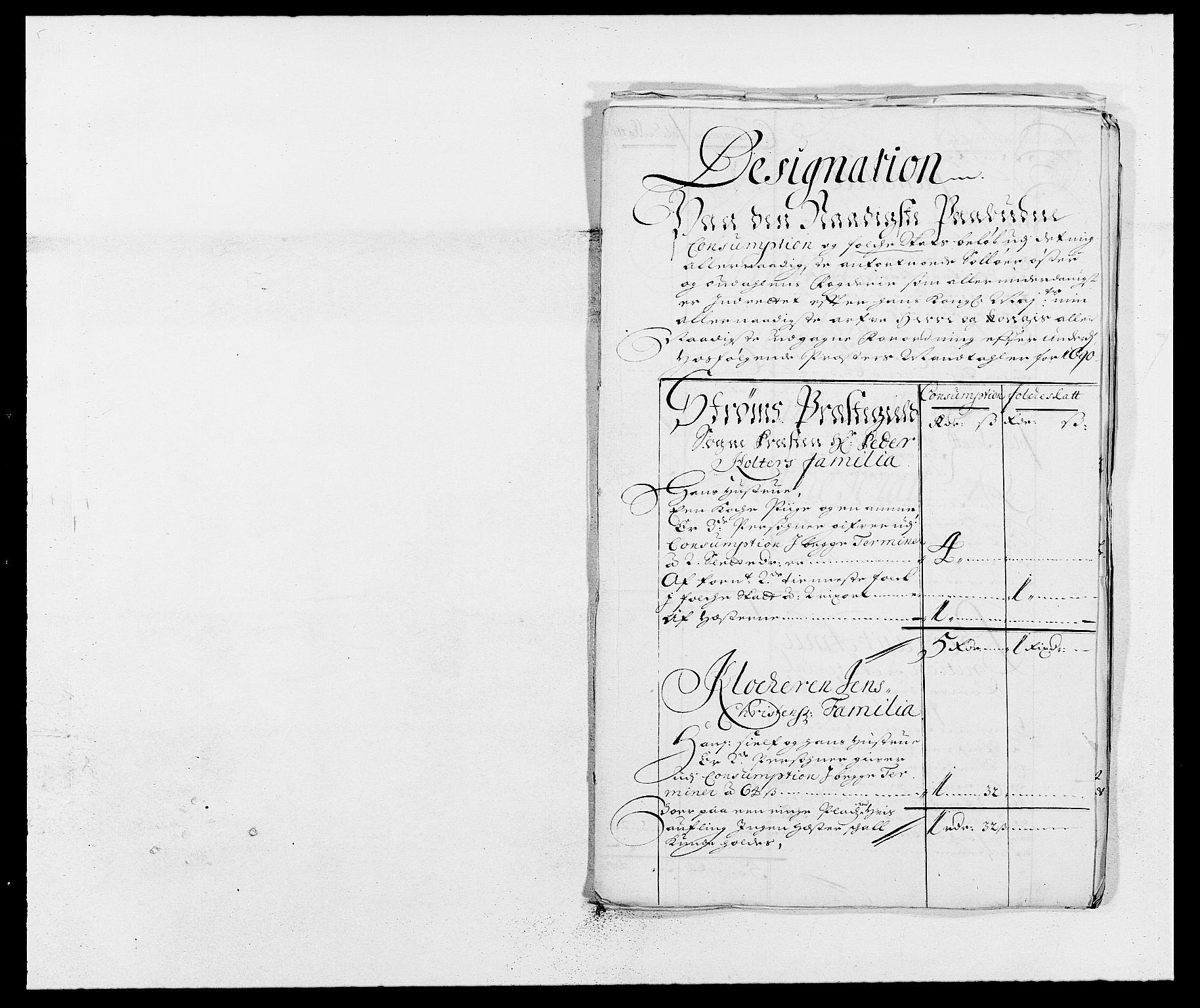 RA, Rentekammeret inntil 1814, Reviderte regnskaper, Fogderegnskap, R13/L0828: Fogderegnskap Solør, Odal og Østerdal, 1690, s. 269