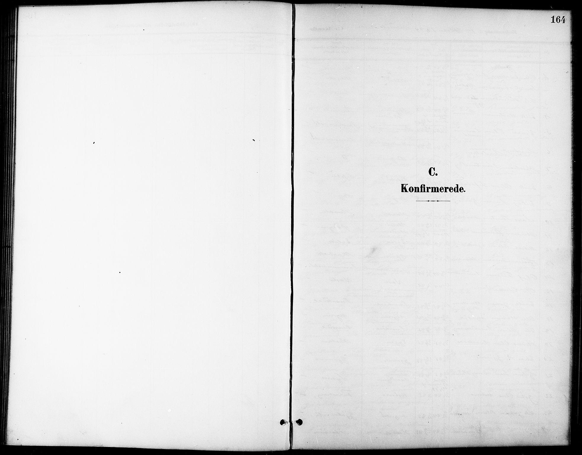 SAT, Ministerialprotokoller, klokkerbøker og fødselsregistre - Sør-Trøndelag, 668/L0819: Klokkerbok nr. 668C08, 1899-1912, s. 164
