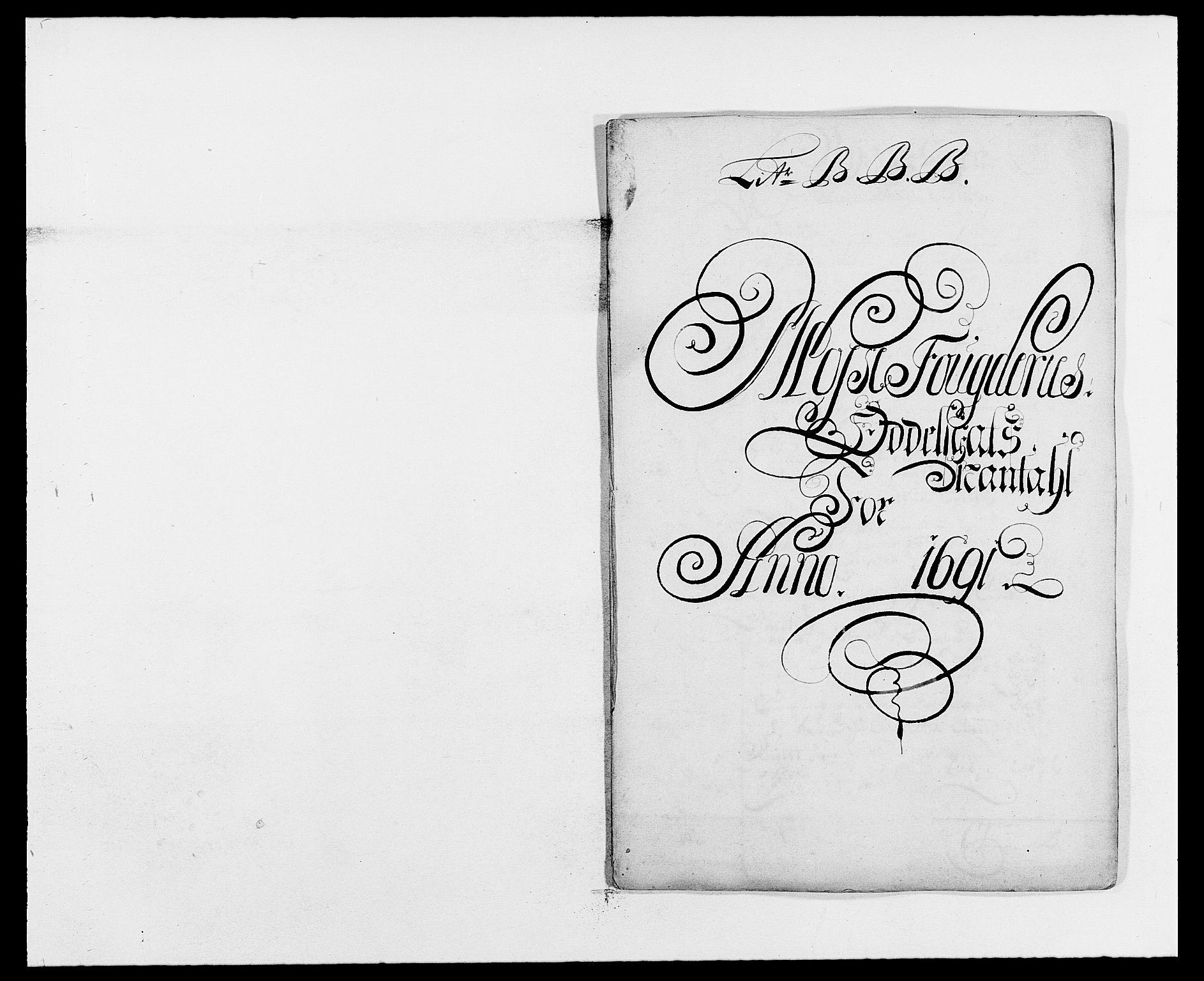RA, Rentekammeret inntil 1814, Reviderte regnskaper, Fogderegnskap, R02/L0106: Fogderegnskap Moss og Verne kloster, 1688-1691, s. 525
