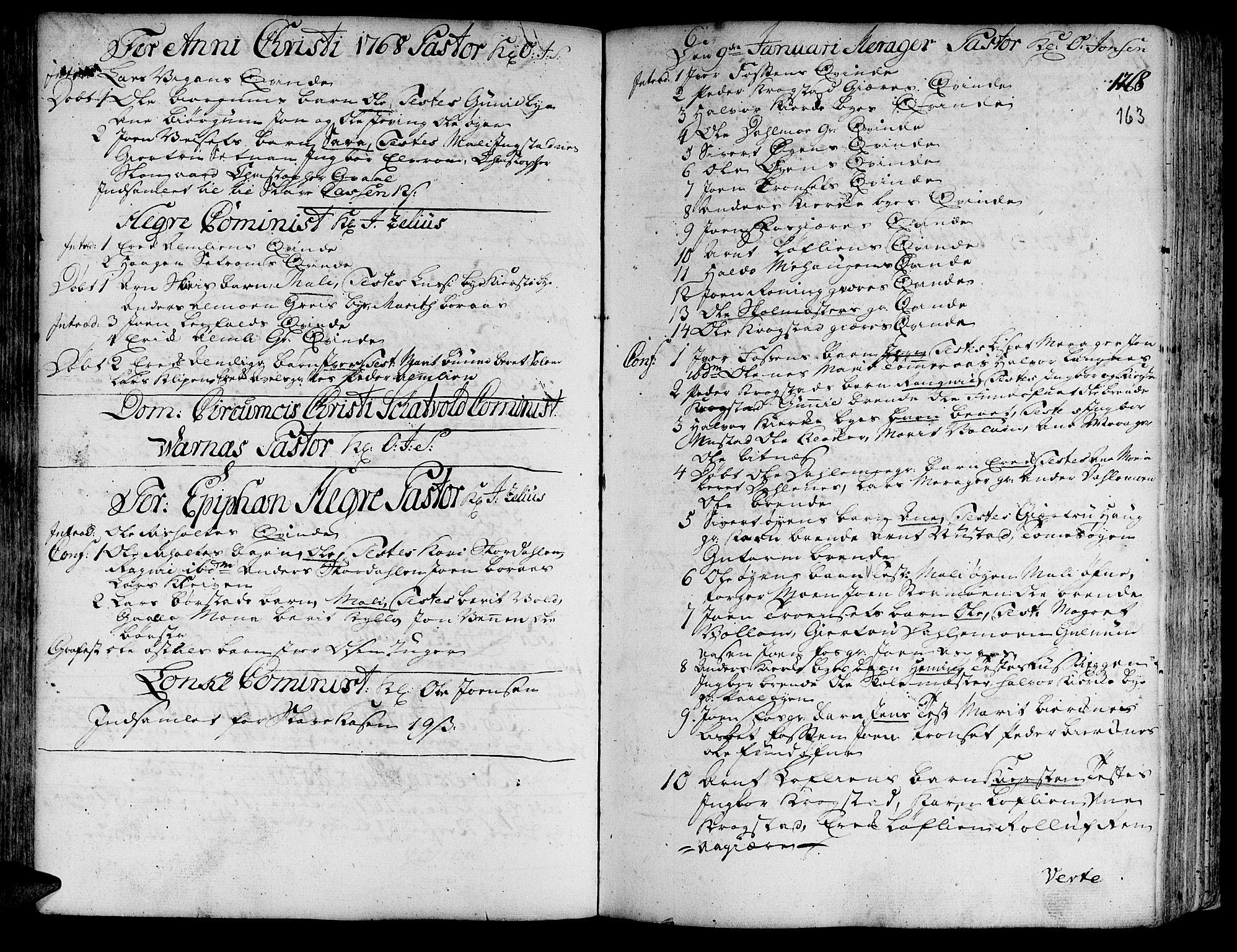 SAT, Ministerialprotokoller, klokkerbøker og fødselsregistre - Nord-Trøndelag, 709/L0057: Ministerialbok nr. 709A05, 1755-1780, s. 163
