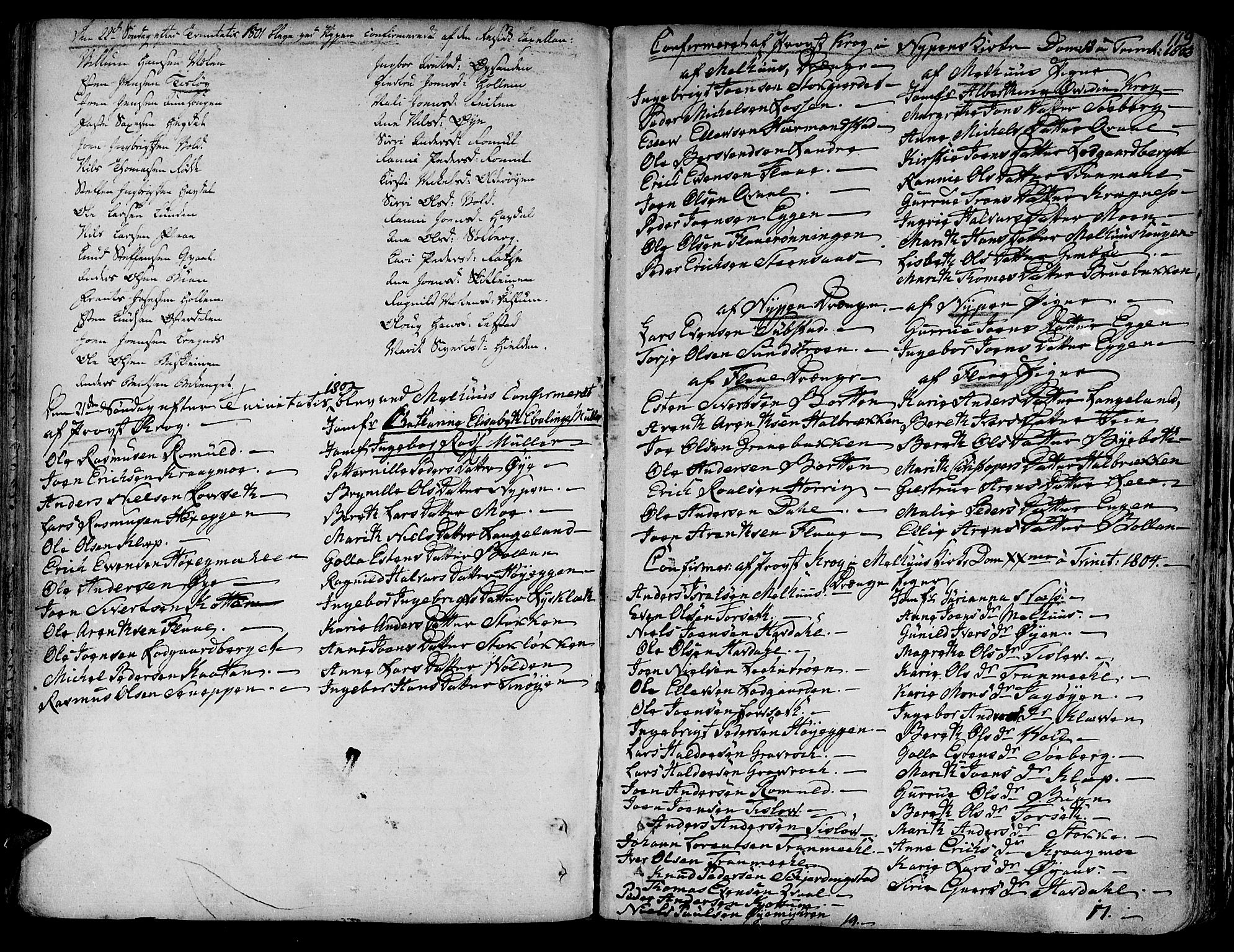 SAT, Ministerialprotokoller, klokkerbøker og fødselsregistre - Sør-Trøndelag, 691/L1063: Ministerialbok nr. 691A02 /3, 1768-1815, s. 119